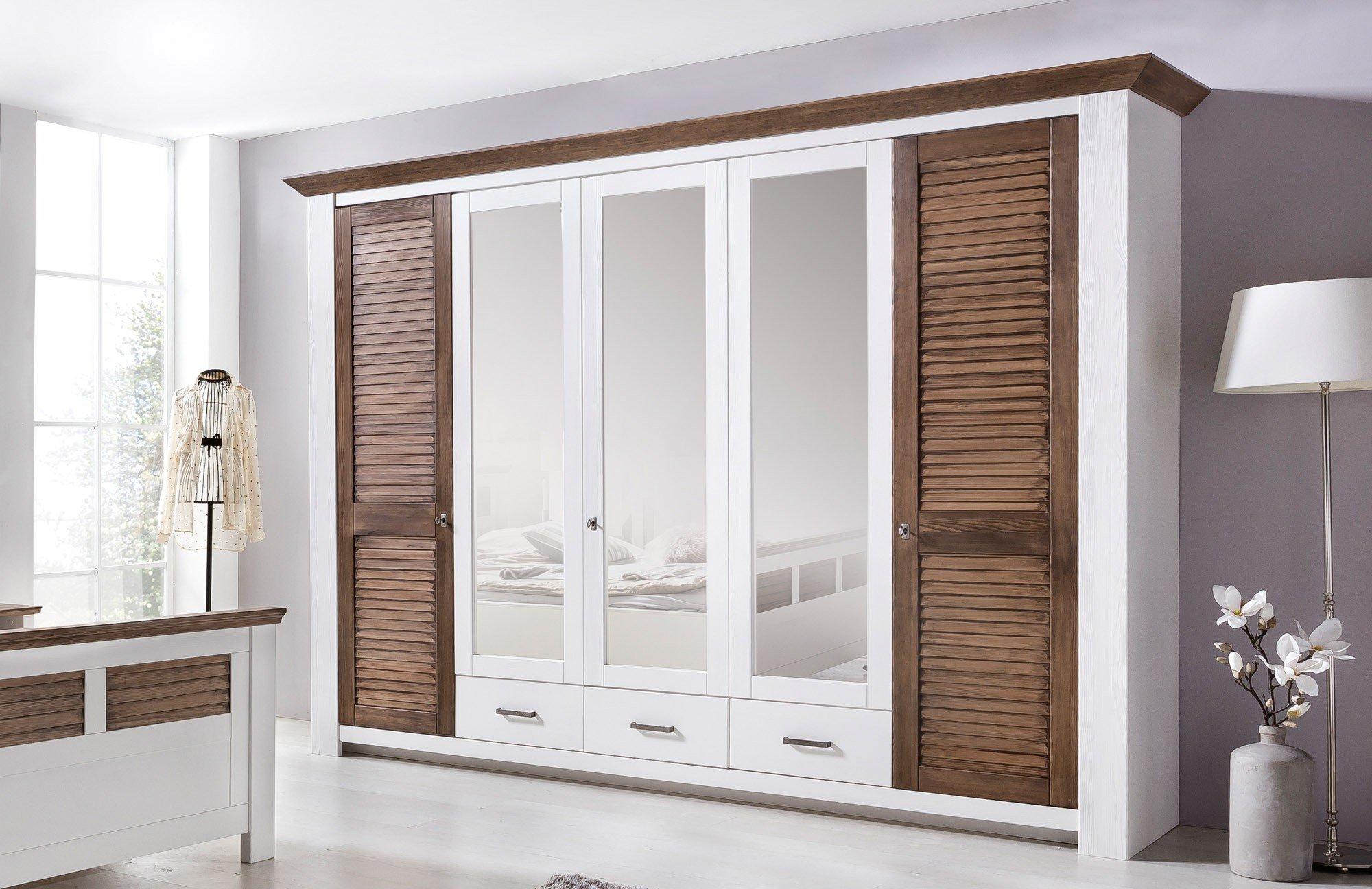 telmex laguna schlafzimmer set pinie wei m bel letz. Black Bedroom Furniture Sets. Home Design Ideas