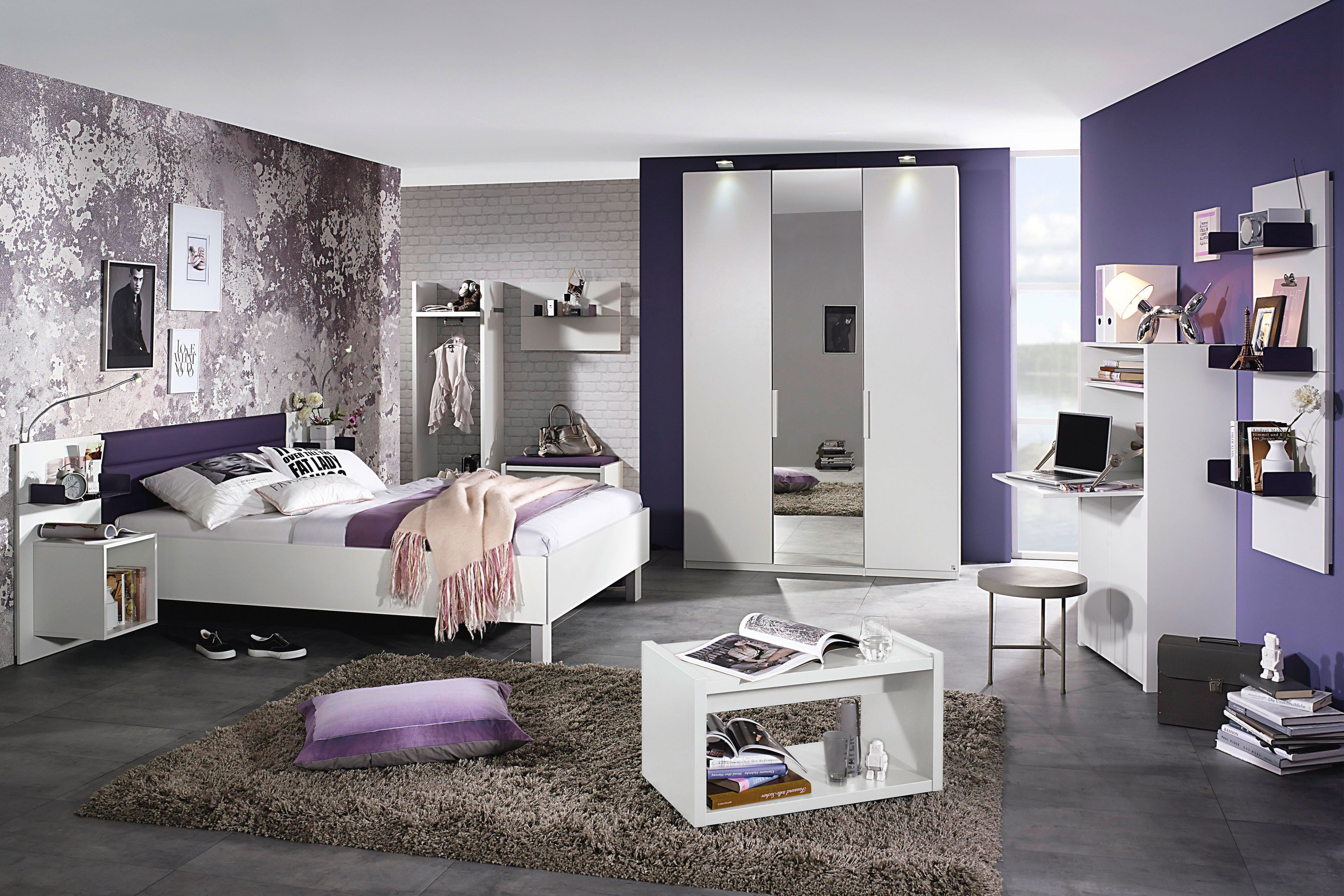 rauch nice4teens jugendzimmer m bel wei m bel letz ihr online shop. Black Bedroom Furniture Sets. Home Design Ideas