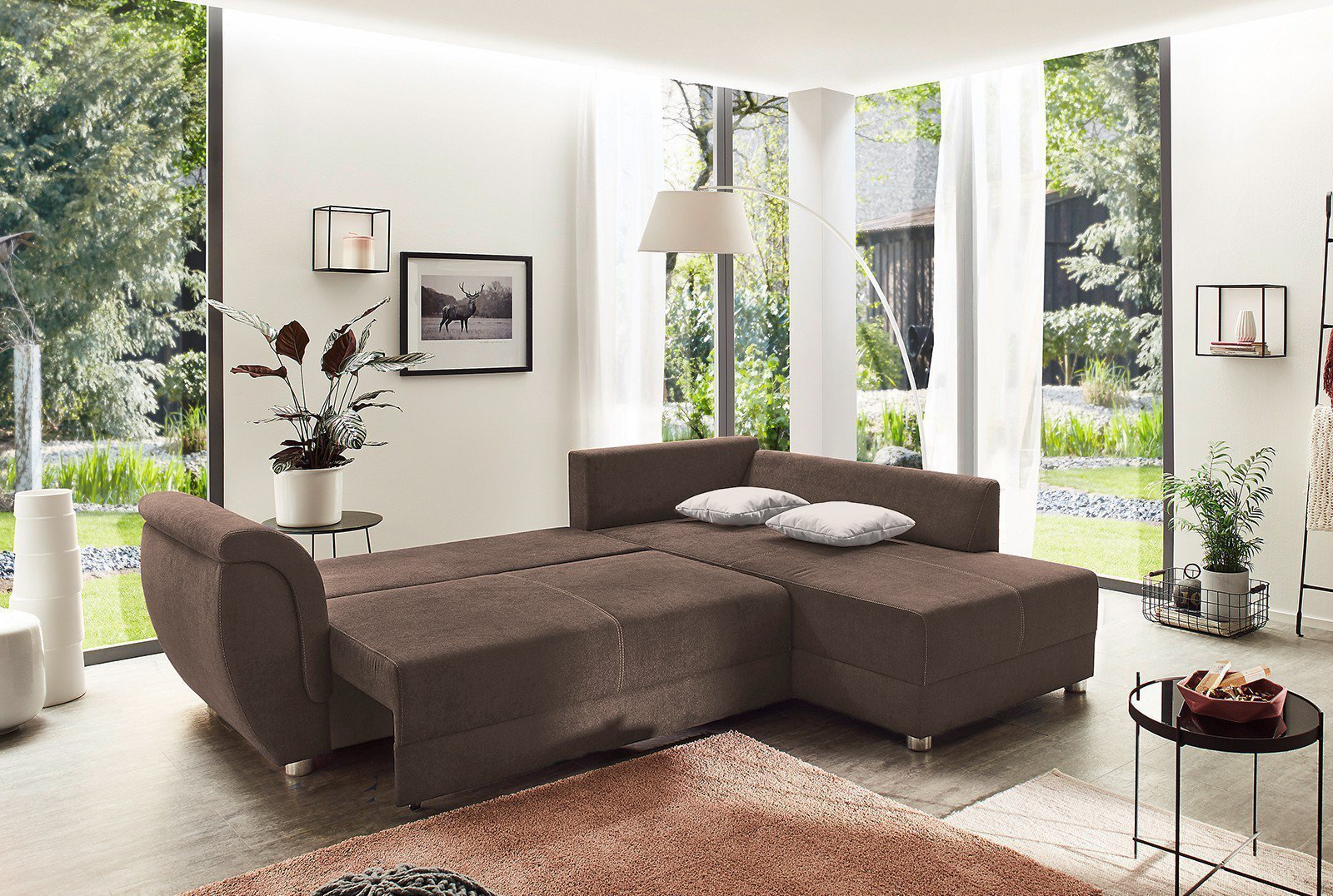 eckcouch angebot ecksofa stoff grn eckcouch kolonial. Black Bedroom Furniture Sets. Home Design Ideas