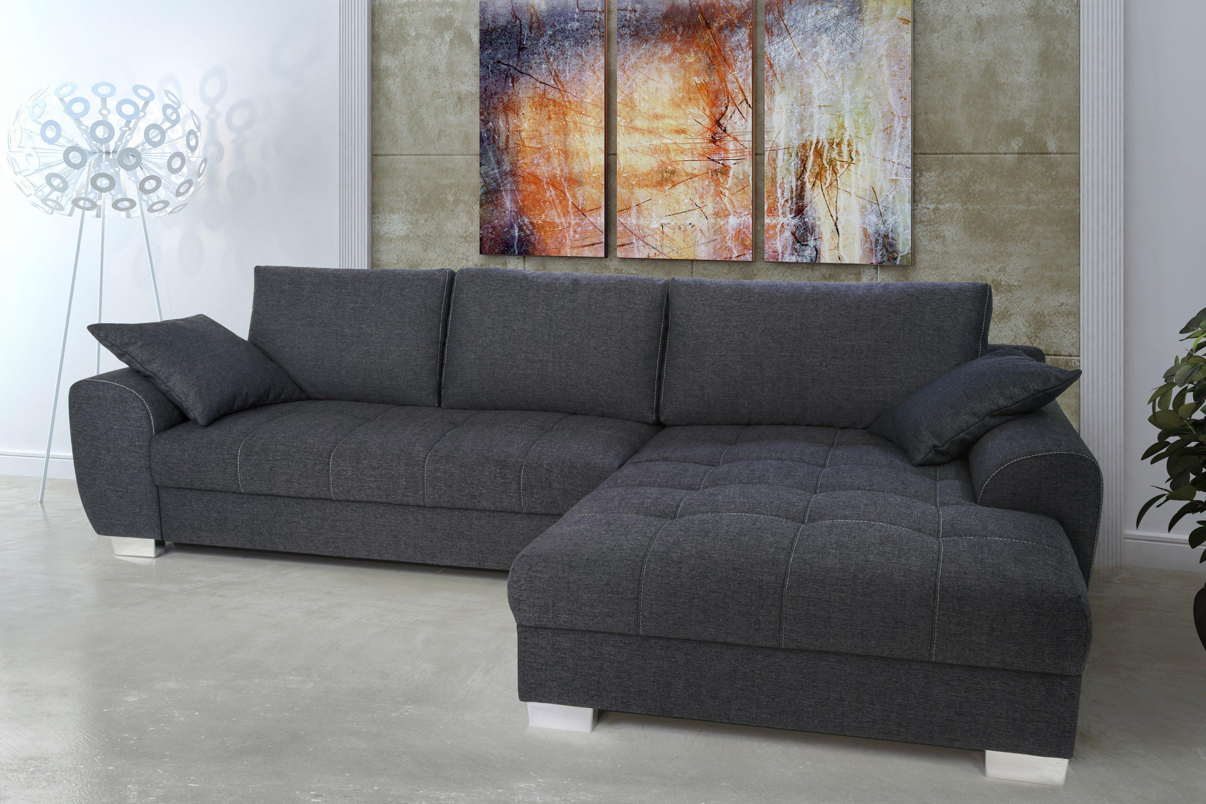 Nova via sevilla eckgarnitur grau m bel letz ihr - Factory sofas sevilla ...