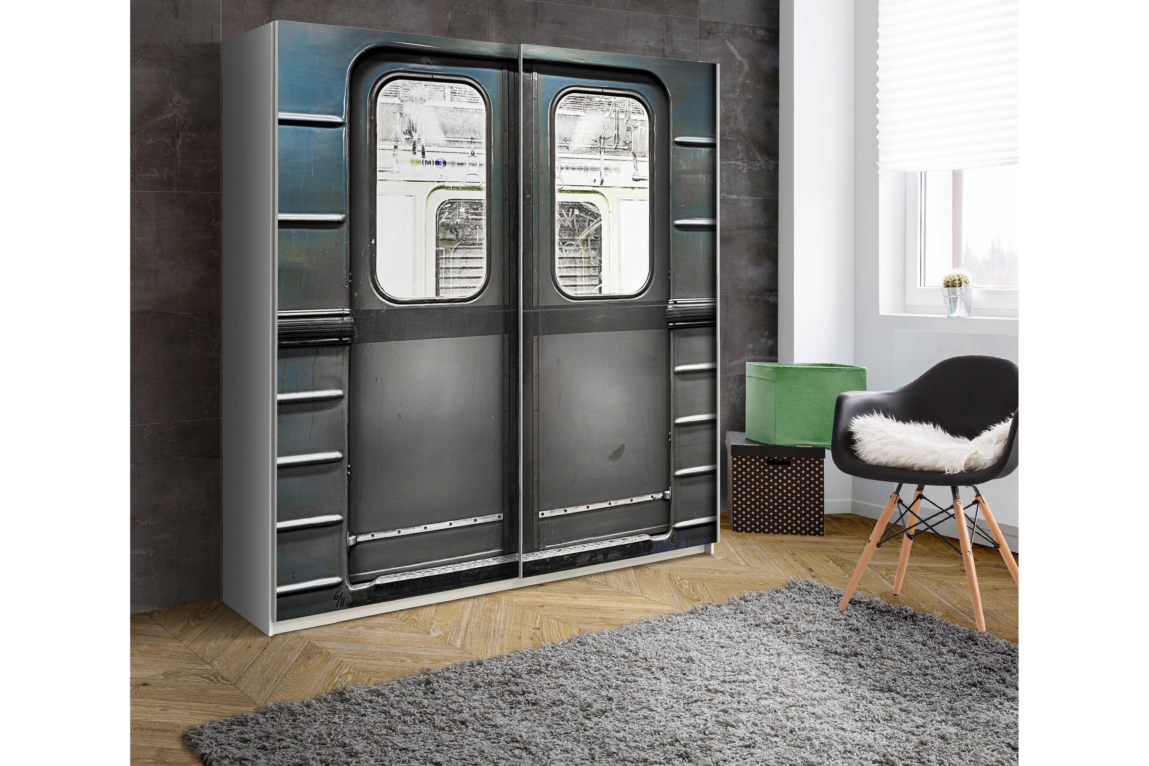 Schwebetürenschrank Plakato von Forte - Metro | Möbel Letz - Ihr ...
