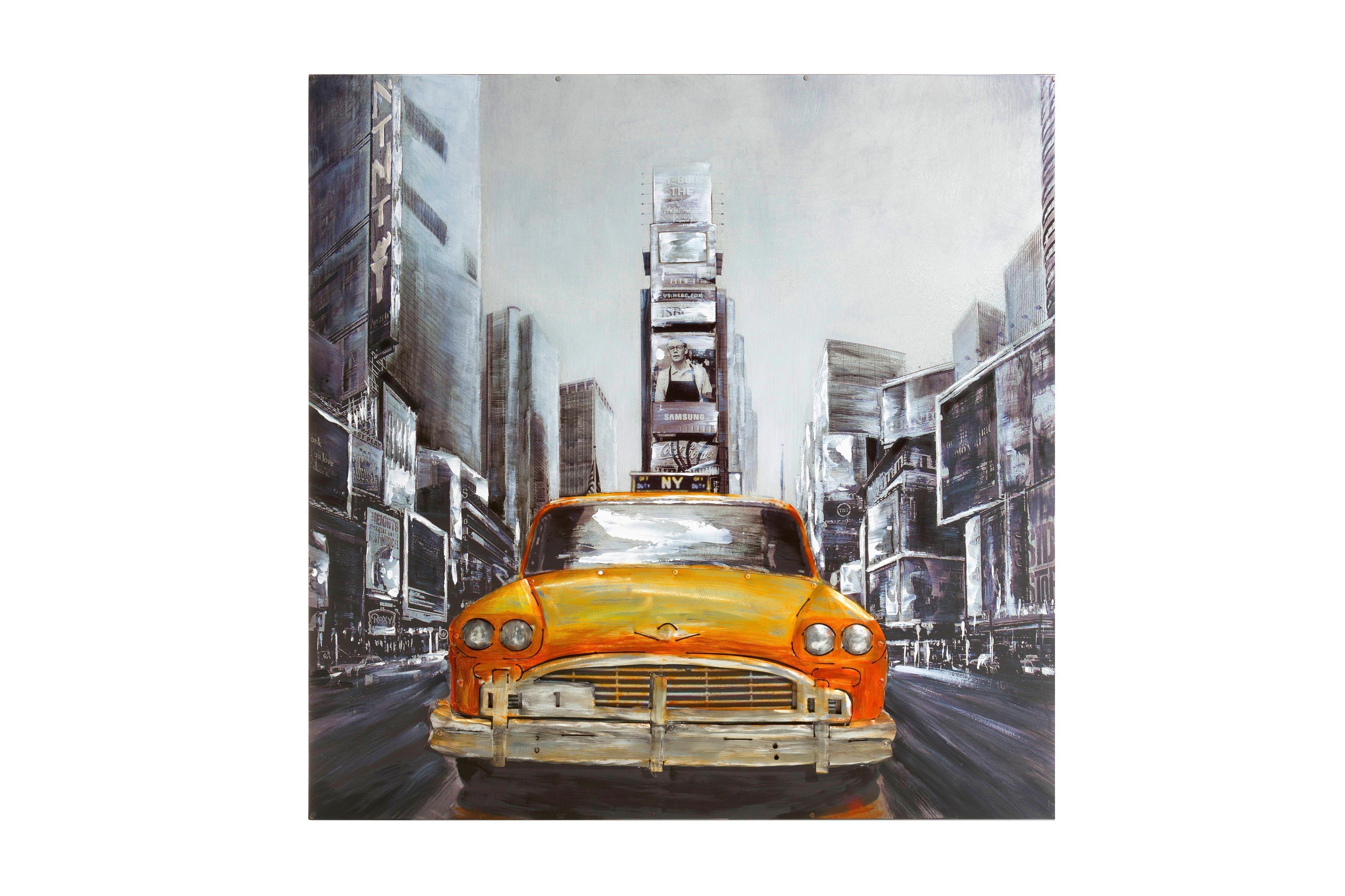 habufa coco maison wandbild new york cab ca 100 x 100 cm m bel letz ihr online shop. Black Bedroom Furniture Sets. Home Design Ideas