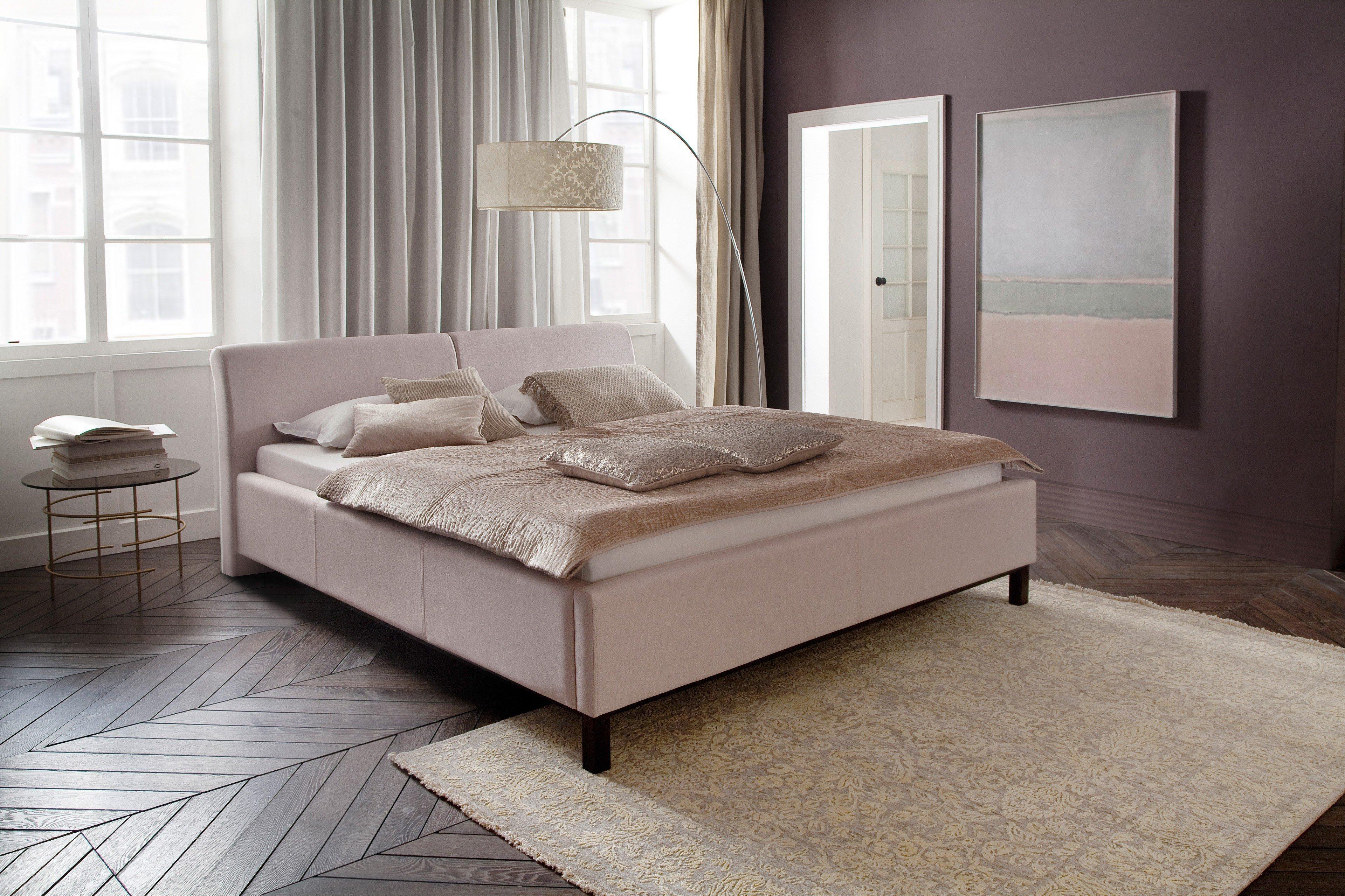 Bellanotte Von Meise Möbel   Polsterbett 160 Beige