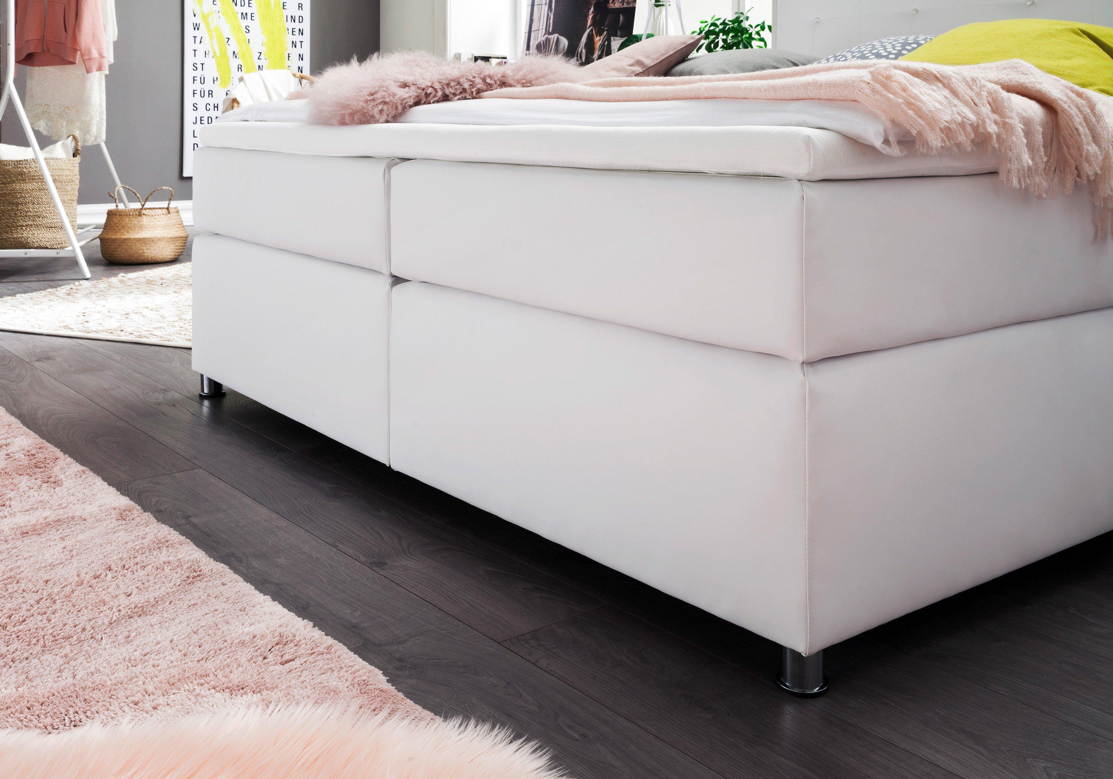 skandinavisches boxspringbett estelle in wei mit swarovski kristallen m bel letz ihr online. Black Bedroom Furniture Sets. Home Design Ideas