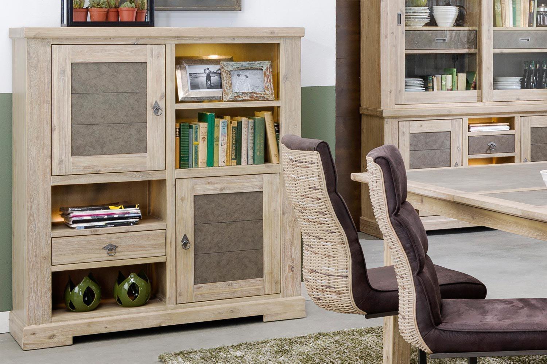 highboard railway 33852tbg von habufa m bel letz ihr online shop. Black Bedroom Furniture Sets. Home Design Ideas