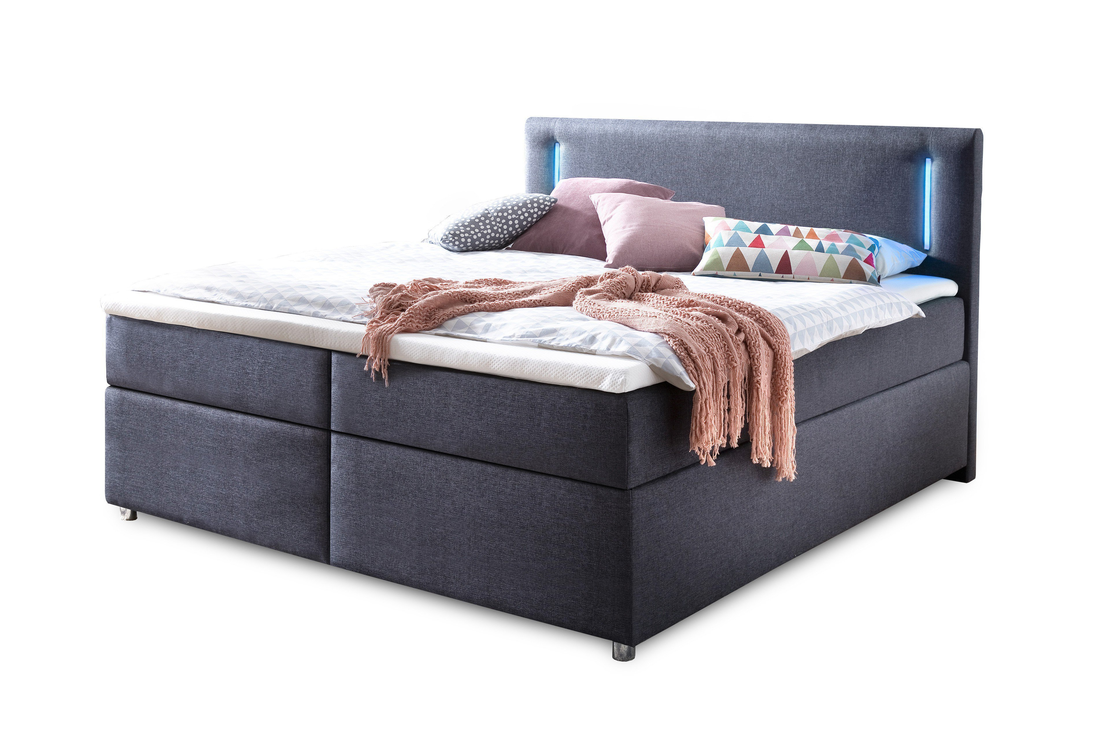 meise boxspringbett lumo in anthrazit m bel letz ihr online shop. Black Bedroom Furniture Sets. Home Design Ideas