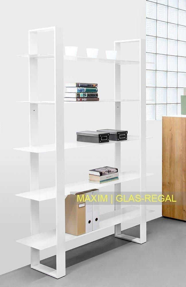 reinhard maxim glas schreibtisch wei m bel letz ihr online shop. Black Bedroom Furniture Sets. Home Design Ideas