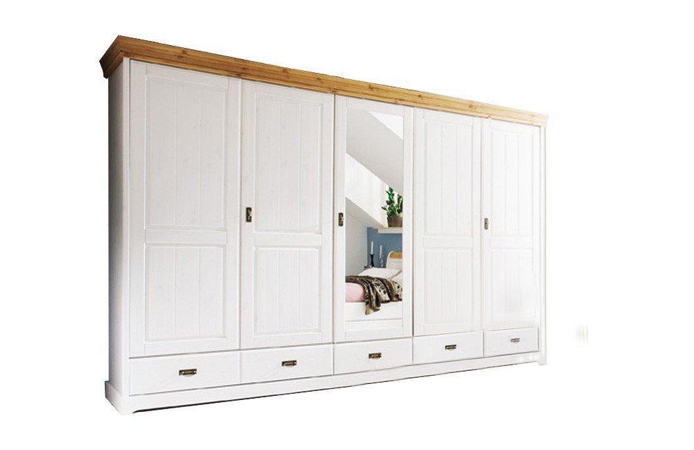 pure natur kleiderschrank kiefernholz wei m bel letz ihr online shop. Black Bedroom Furniture Sets. Home Design Ideas