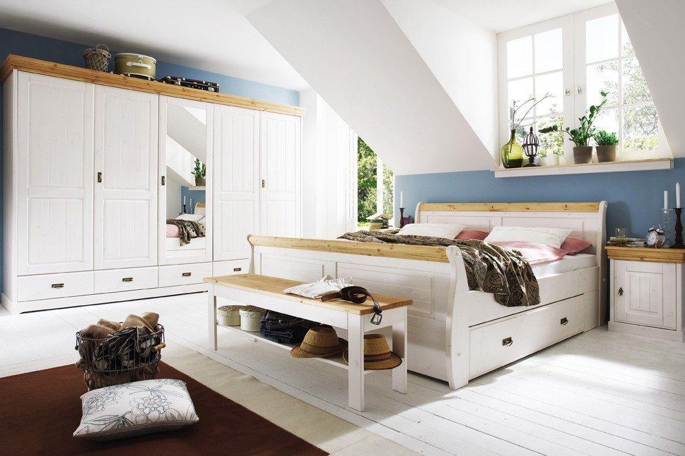 pure natur schlafzimmer set kiefer wei m bel letz ihr online shop. Black Bedroom Furniture Sets. Home Design Ideas
