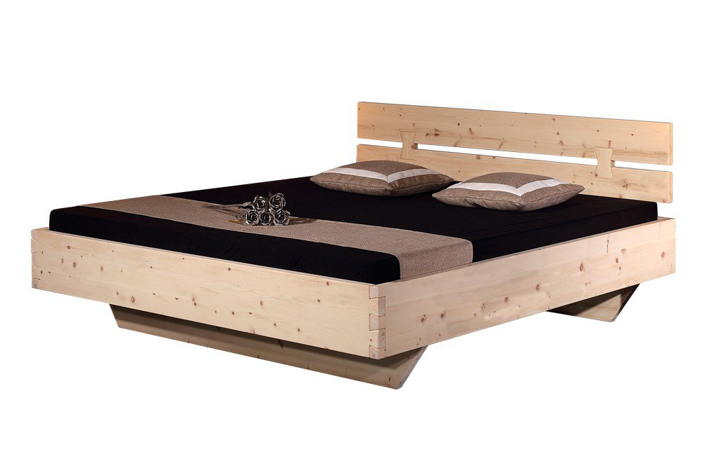 sprenger bett rosenheim massivholz zirbe m bel letz. Black Bedroom Furniture Sets. Home Design Ideas