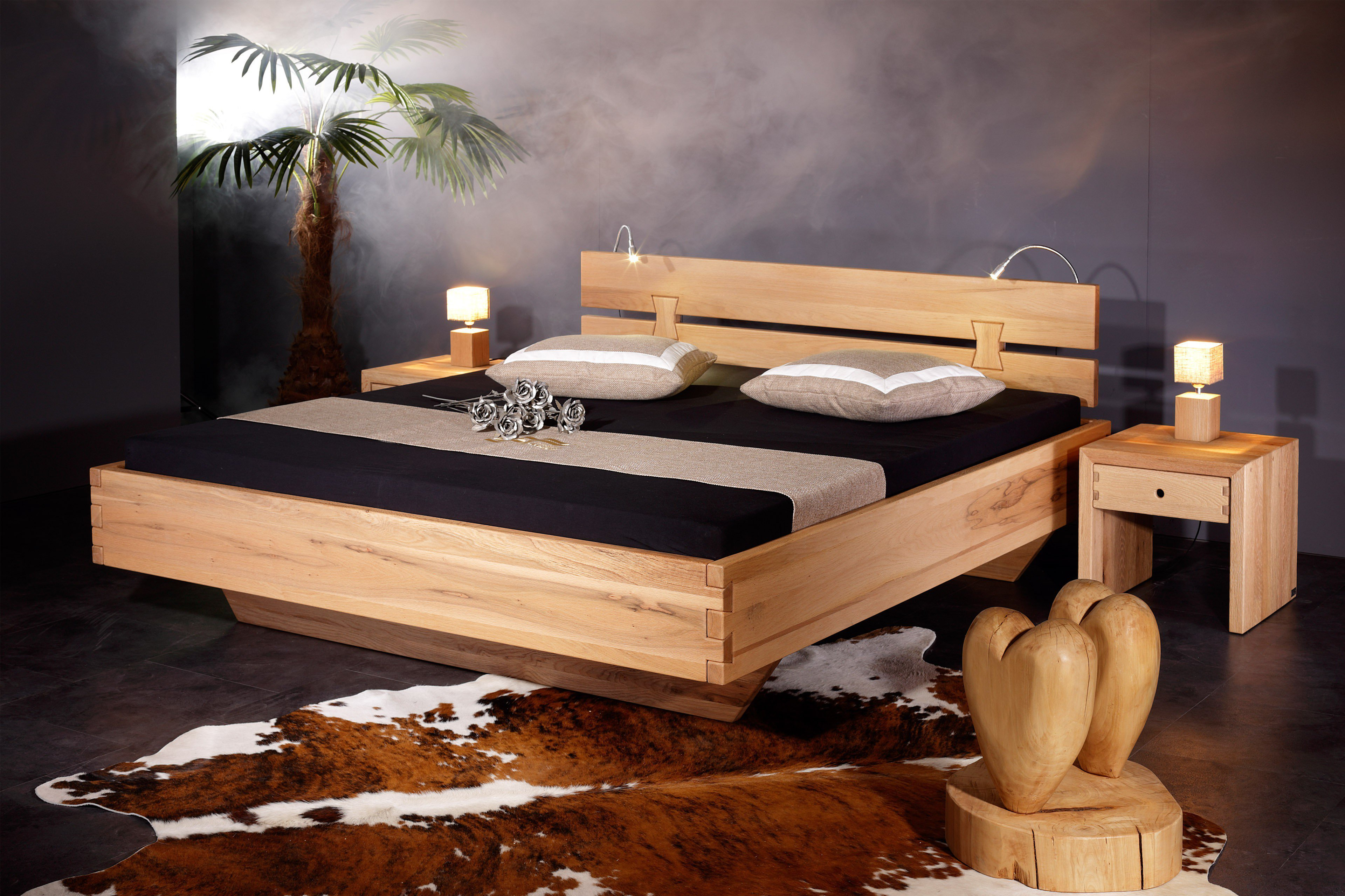 sprenger bett rosenheim sumpfeiche ge lt m bel letz ihr online shop. Black Bedroom Furniture Sets. Home Design Ideas
