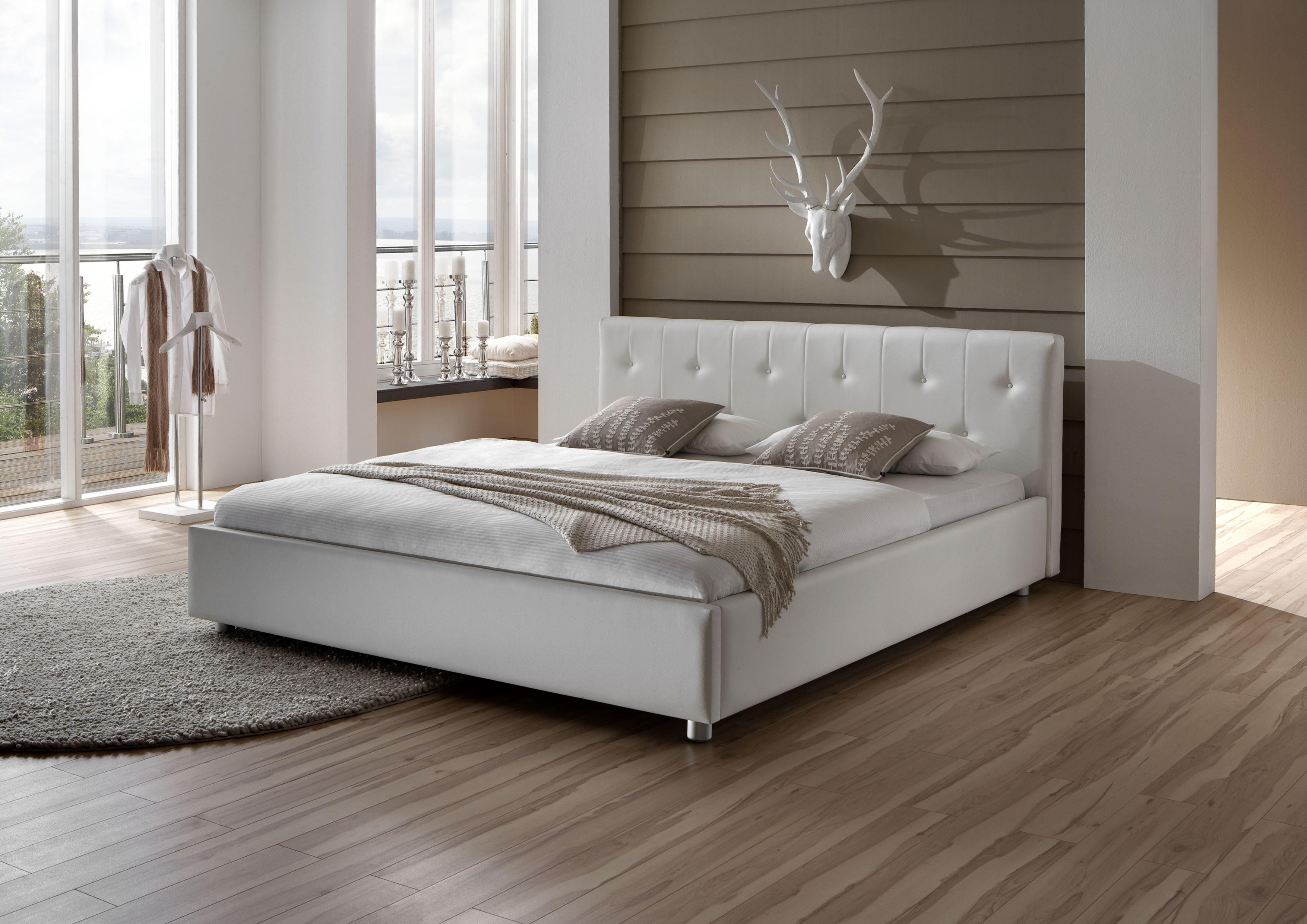 Dico Möbel Polsterbett 840.00 / Rom in Weiß | Möbel Letz - Ihr ...