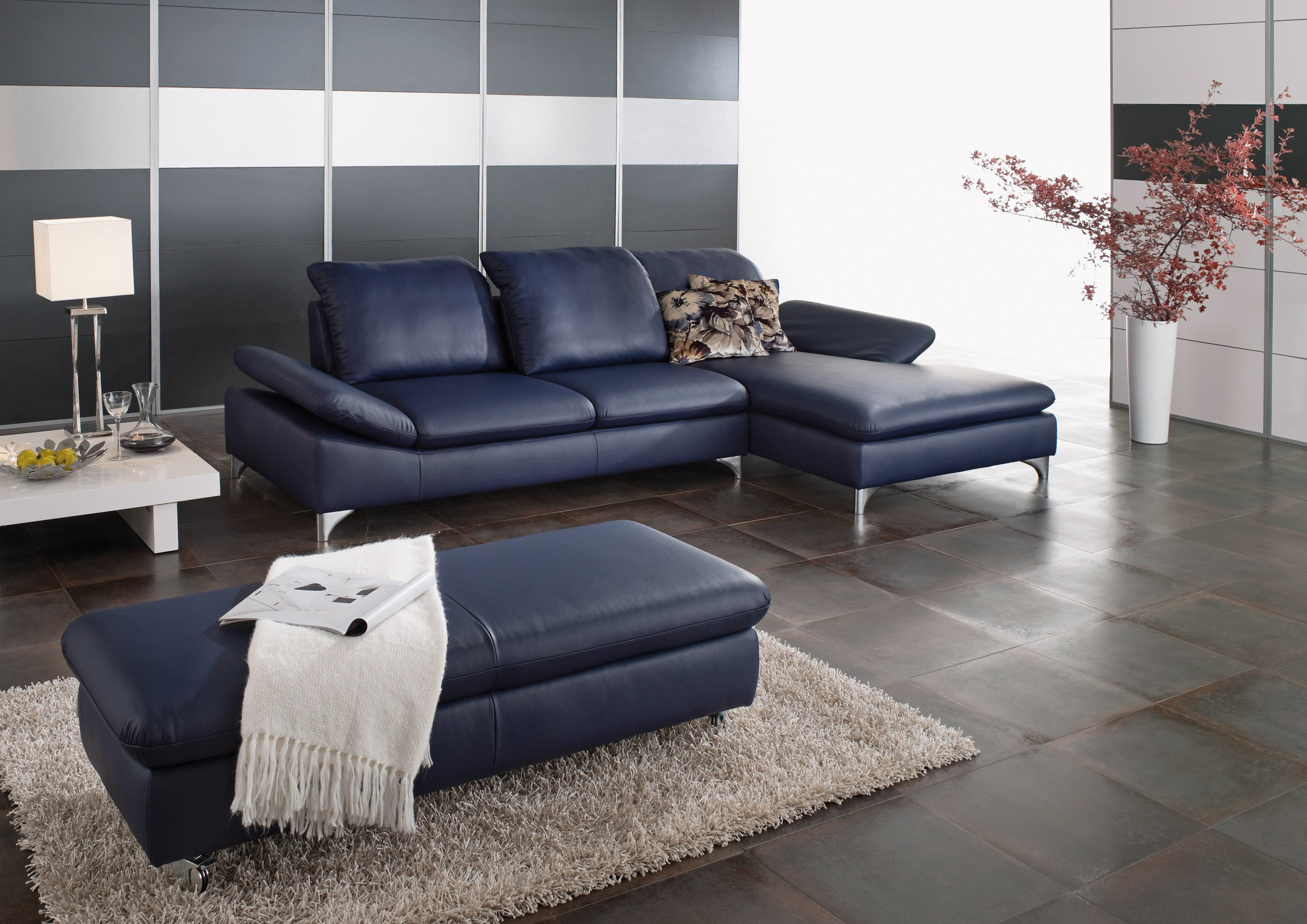 willi schillig 15270 enjoy ecksofa in blau m bel letz ihr online shop. Black Bedroom Furniture Sets. Home Design Ideas