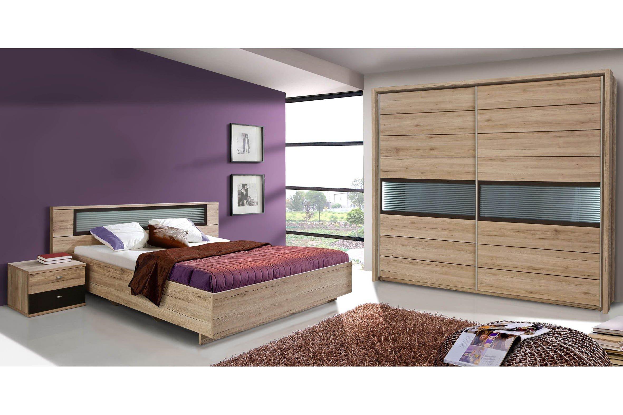 forte celano schlafzimmer set sandeiche nachbildung m bel letz ihr online shop. Black Bedroom Furniture Sets. Home Design Ideas