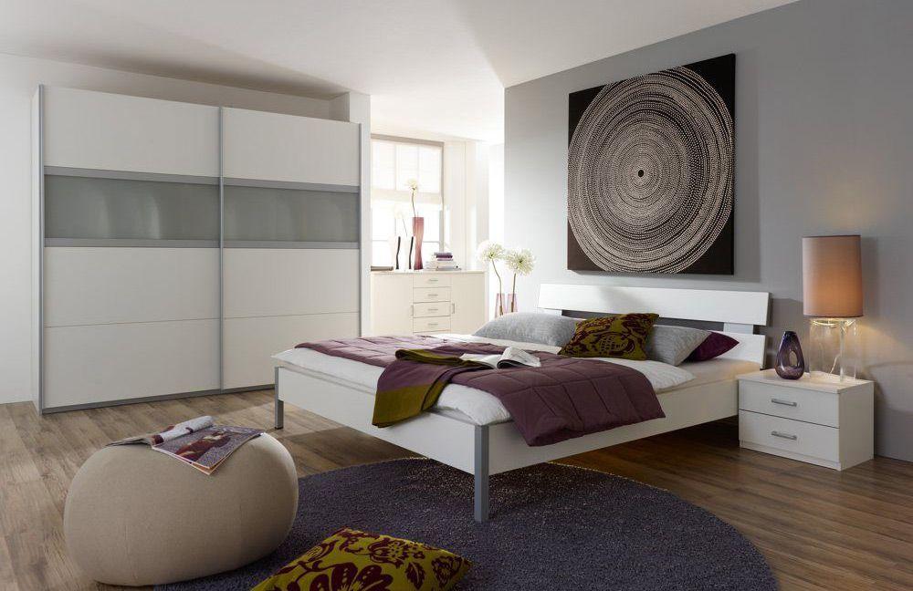 Schlafzimmer Quadra : SchlafzimmerSet alpinweiß Quadra Emmy von Rauch PackŽs Möbel