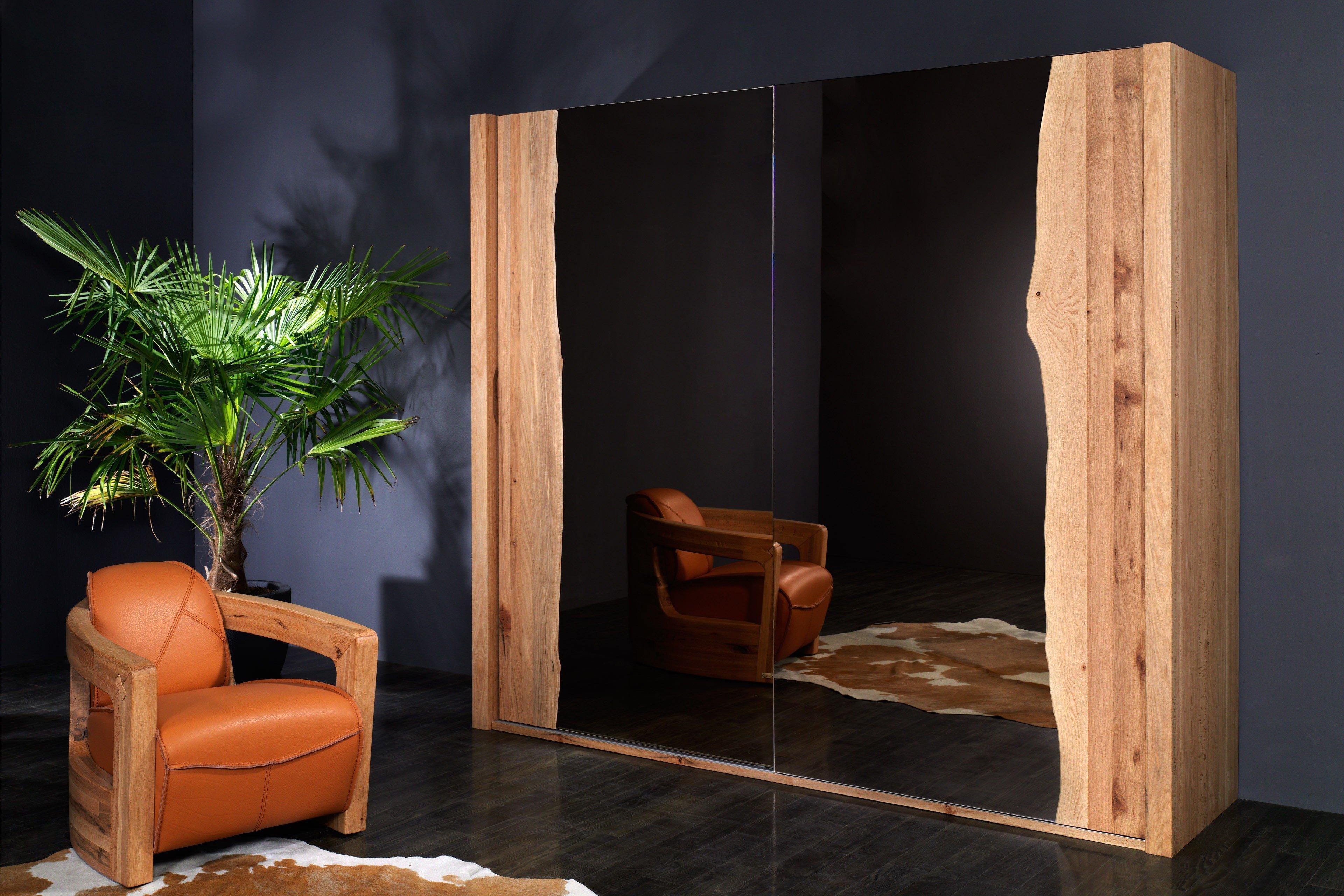 sprenger m bel kleiderschrank waldkante m bel letz ihr online shop. Black Bedroom Furniture Sets. Home Design Ideas