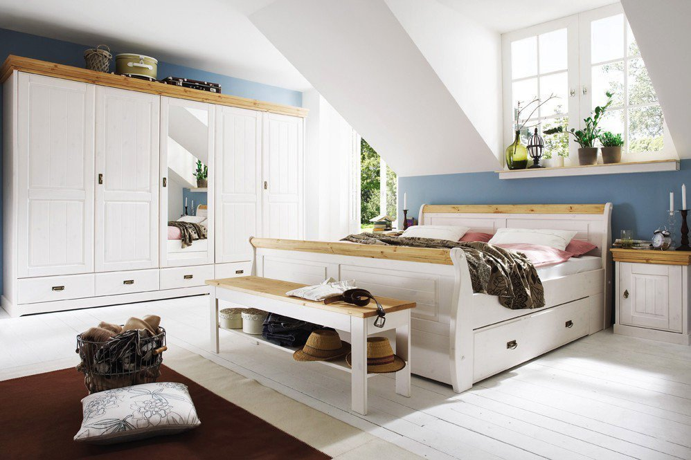 gk m belvertrieb roma schlafzimmer kiefer m bel letz ihr online shop. Black Bedroom Furniture Sets. Home Design Ideas