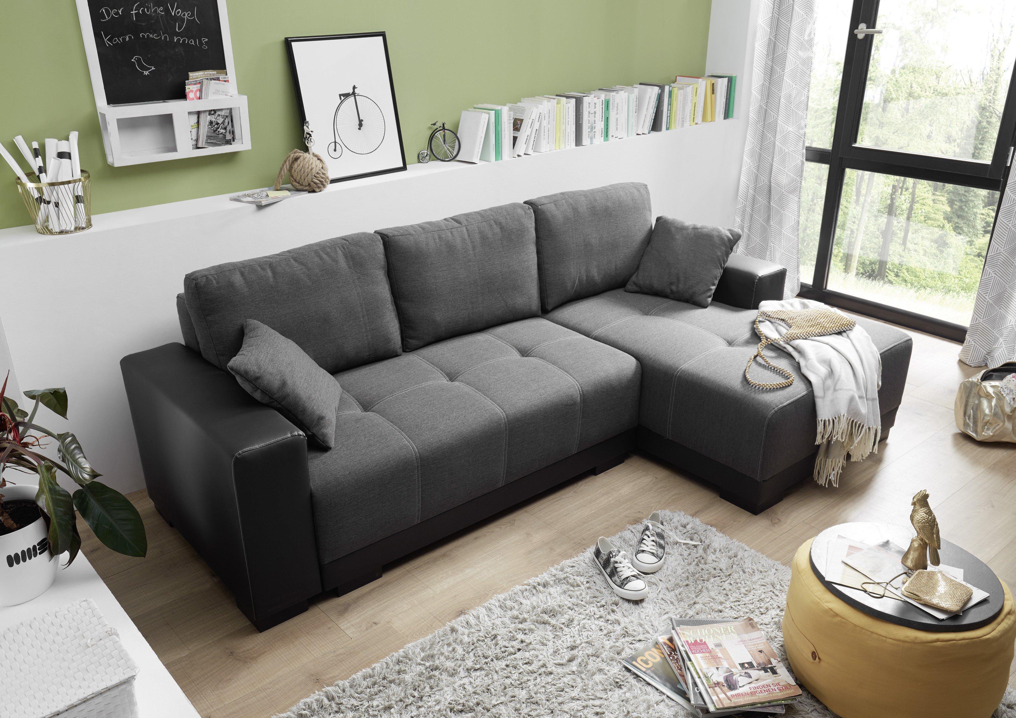 Black Red White Sofas Contemporary Urban Home Ideas