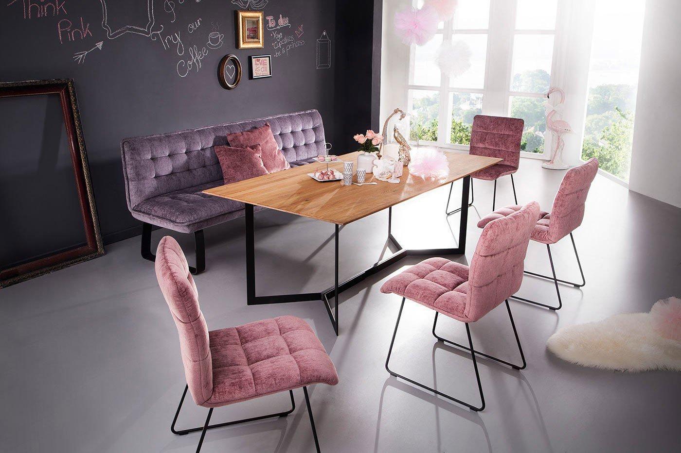 K W Formidable Home Collection Bank Karolina In Lavender Schwarz