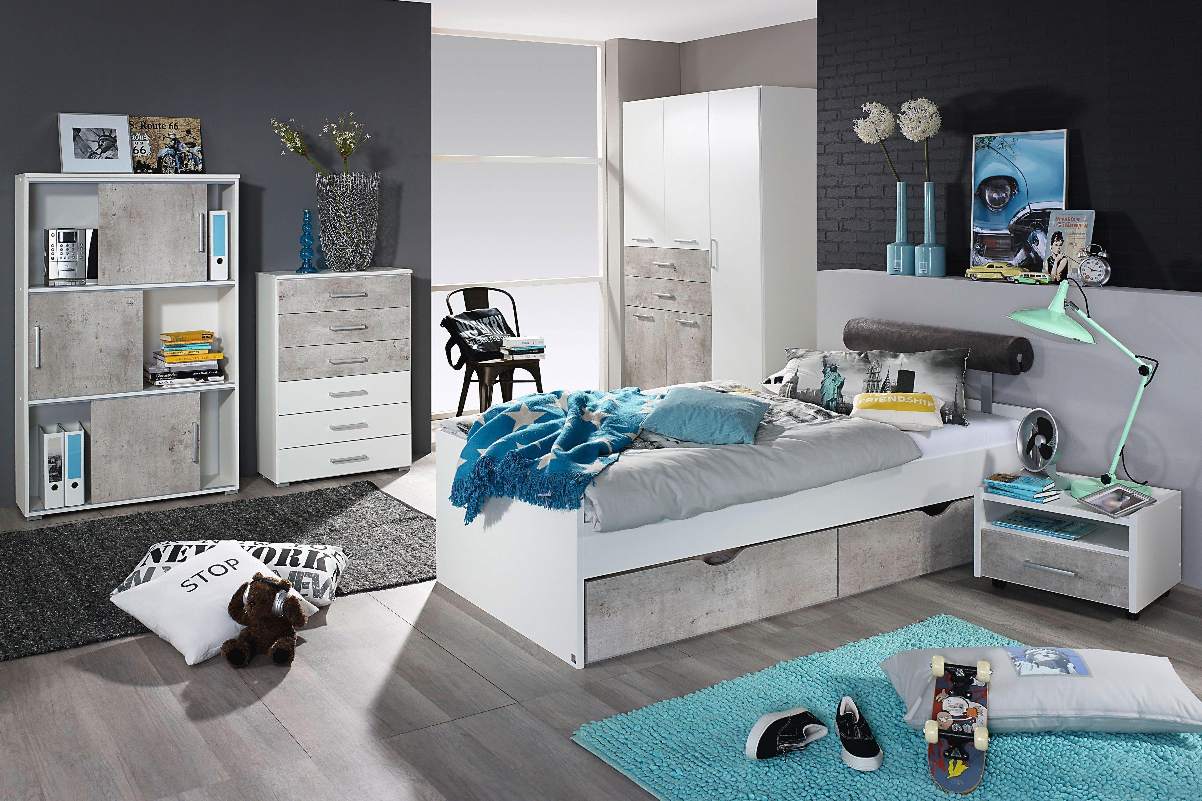Rauch Jugendzimmer Mailo 2-teilig weiß | Möbel Letz - Ihr Online-Shop
