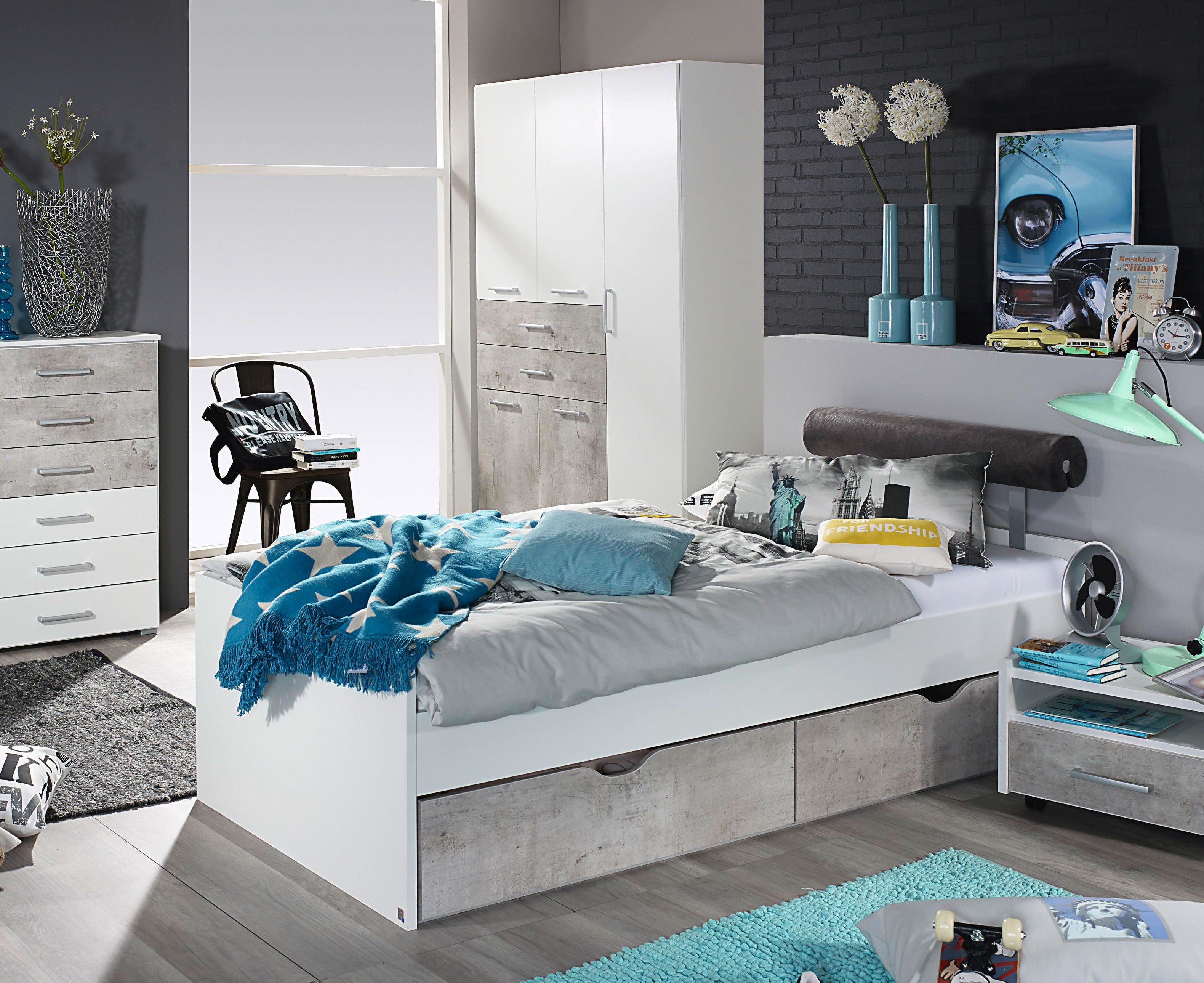 rauch jugendzimmer mailo 2 teilig wei m bel letz ihr online shop. Black Bedroom Furniture Sets. Home Design Ideas