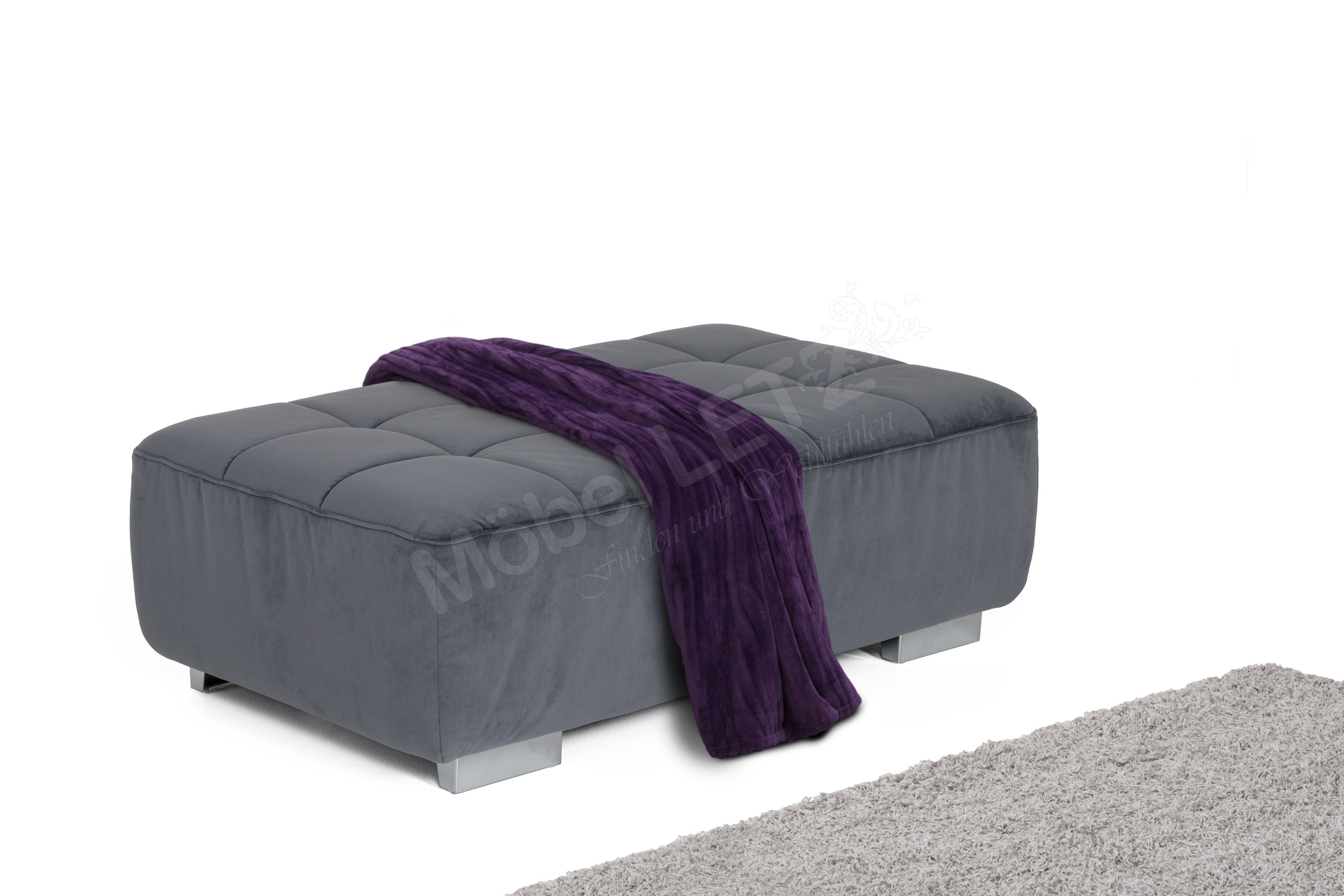 megapol mitch hocker denim m bel letz ihr online shop. Black Bedroom Furniture Sets. Home Design Ideas