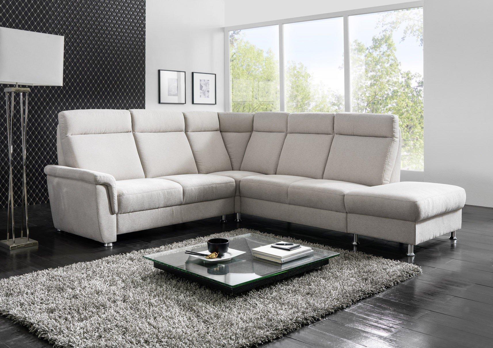 gruber polsterm bel imperial eckcouch im farbton stone m bel letz ihr online shop. Black Bedroom Furniture Sets. Home Design Ideas