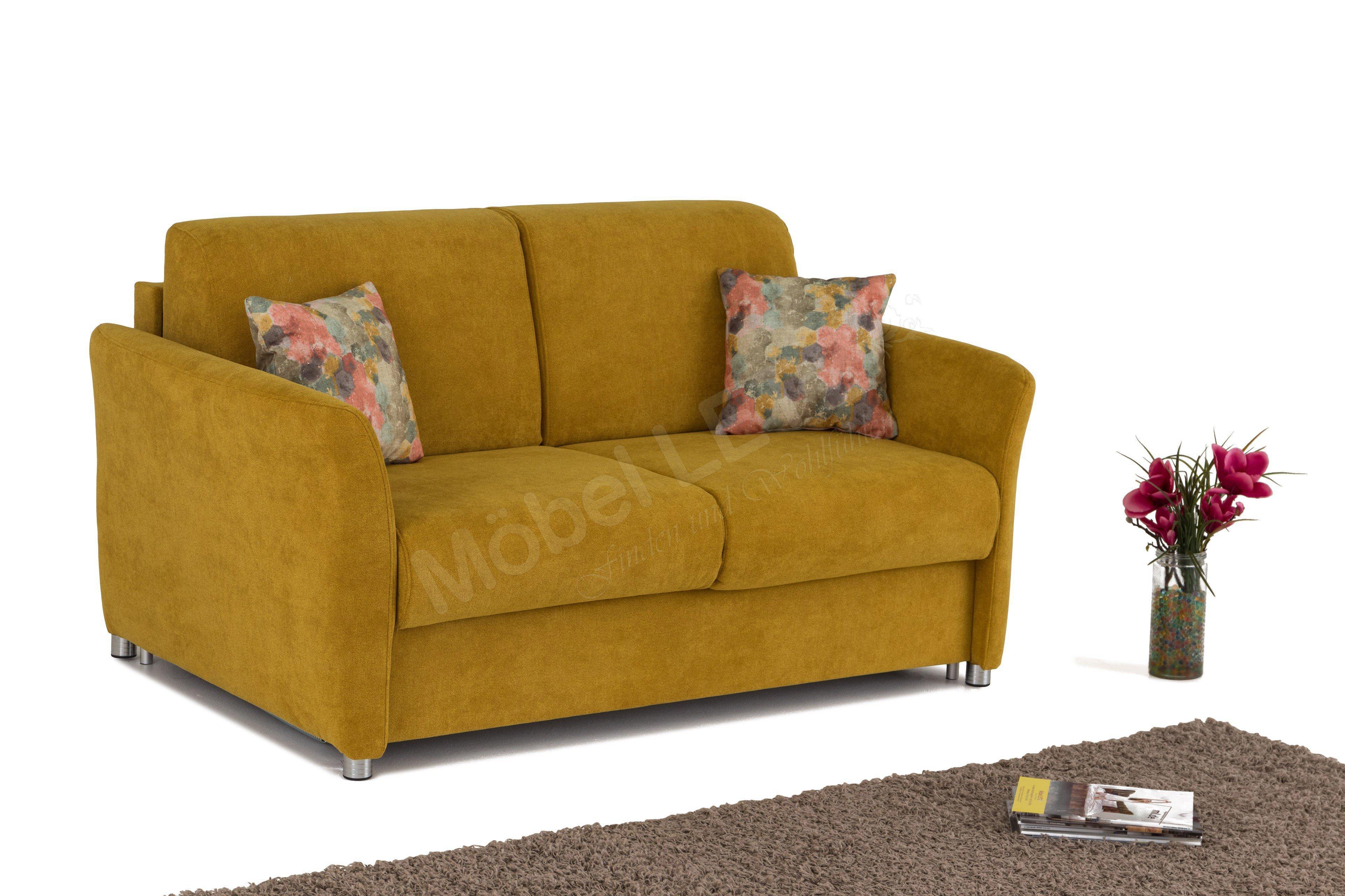 Schlafsofa gelb  Select Style Schlafsofa Trier im strahlenden Gelb | Möbel Letz ...