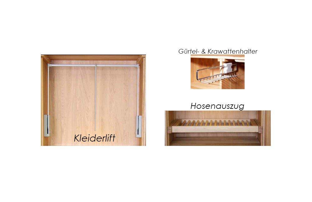 Sprenger Möbel Kleiderschrank Nussbaum | Möbel Letz - Ihr Online-Shop