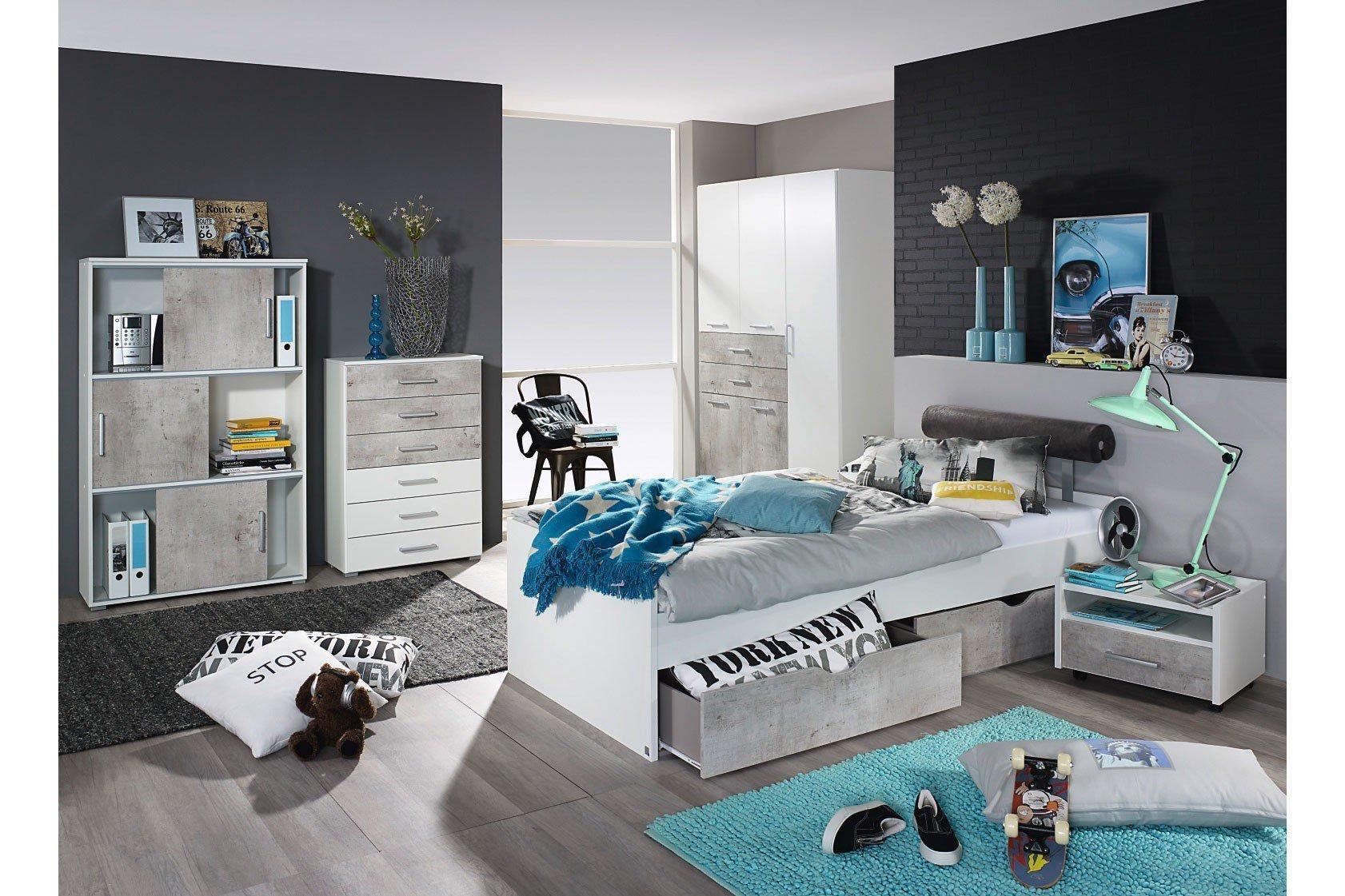 rauch mailo jugendbett wei m bel letz ihr online shop. Black Bedroom Furniture Sets. Home Design Ideas