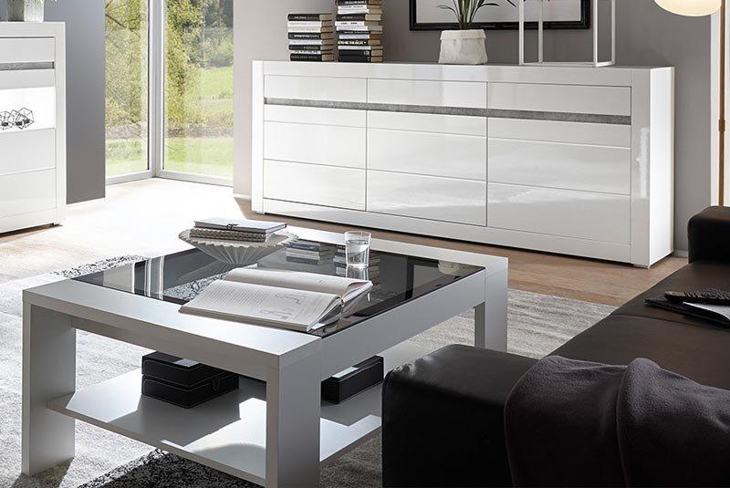 Imv Steinheim Couchtisch Carat 5w W7 99 61 Weiß Hochglanz Möbel