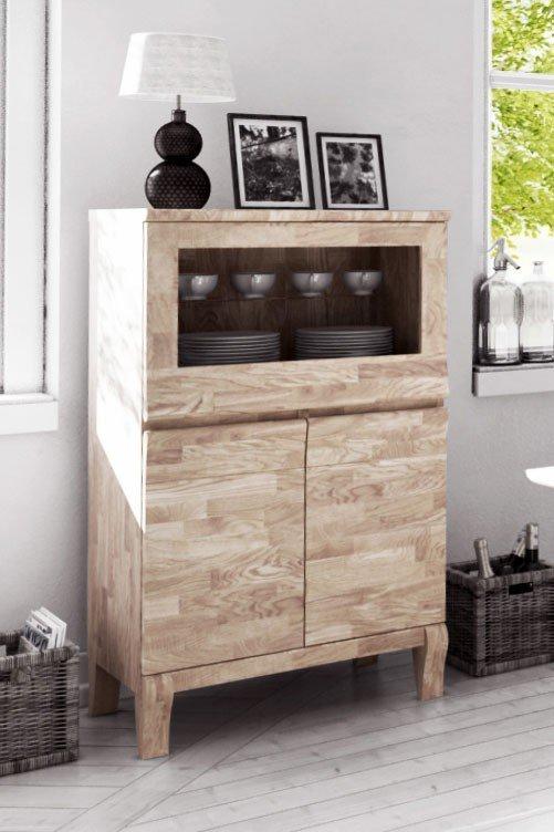 the beds massiver esstisch bona eiche wei ge lt m bel letz ihr online shop. Black Bedroom Furniture Sets. Home Design Ideas