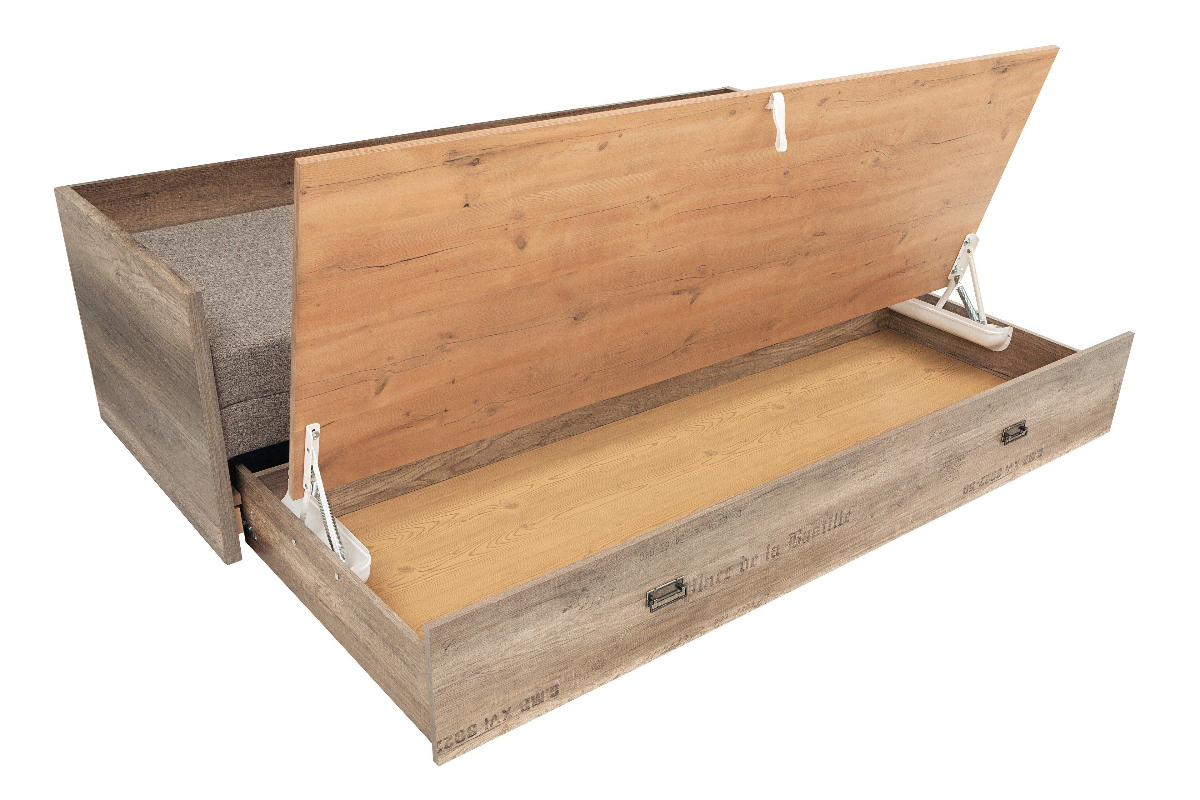 begabino malcolm bett mit matratze m bel letz ihr. Black Bedroom Furniture Sets. Home Design Ideas