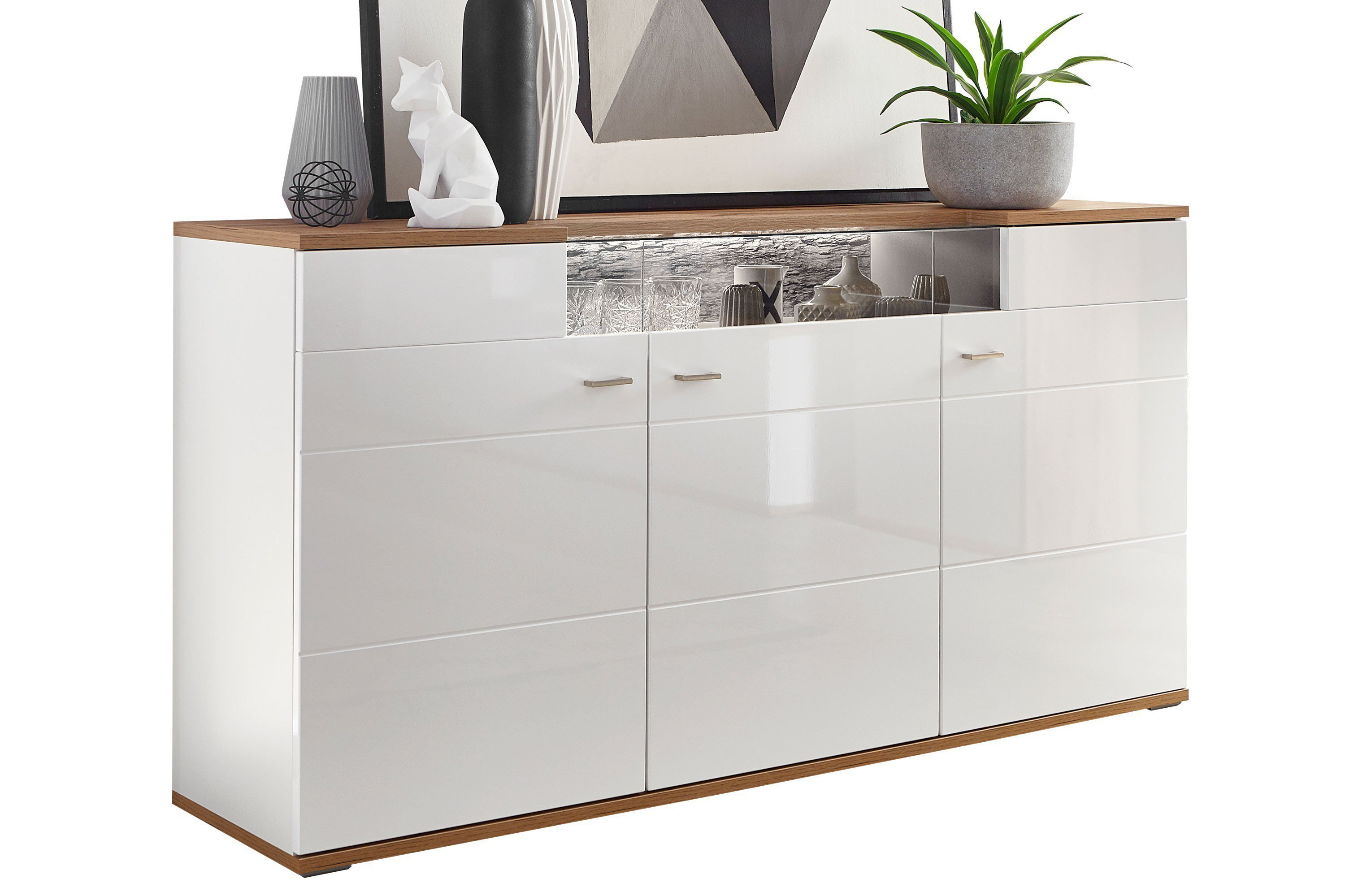 Latest Free Timo Von Ideal Mbel Sideboard Wei Wotan Eiche With Sideboard  Weiss With Usm Haller Sideboard Wei.