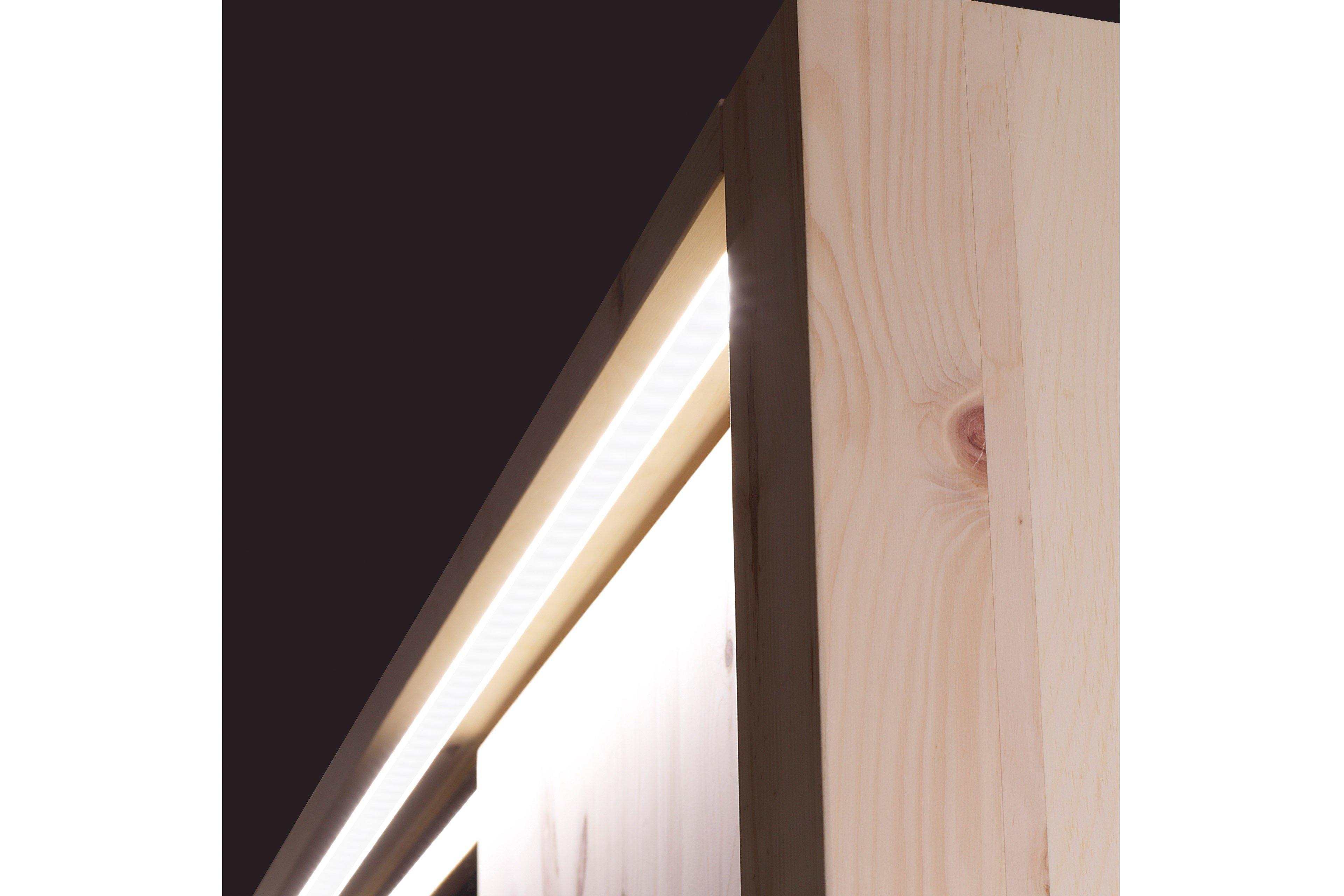 Kleiderschrank Sprenger Möbel Glas weiß   Möbel Letz - Ihr Online-Shop