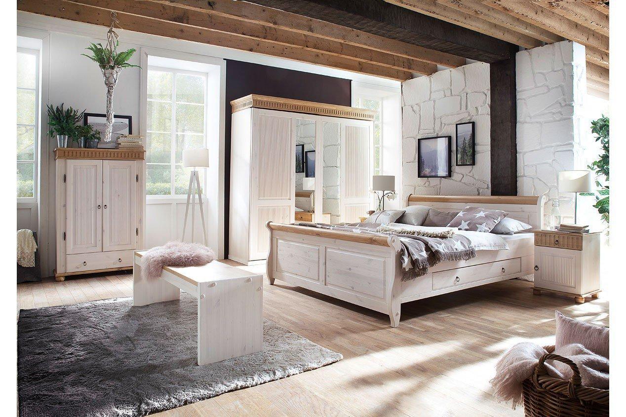 Euro Diffusion Helsinki Schlafzimmer Kiefer Massiv Möbel Letz - Schlafzimmer helsinki malta