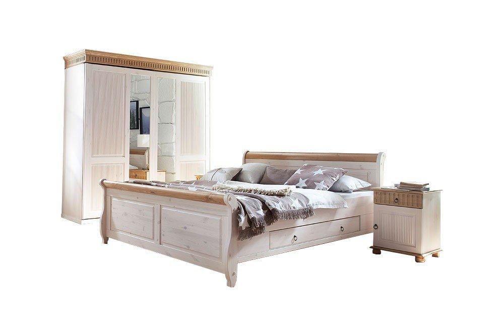 Euro Diffusion Helsinki Schlafzimmer Kiefer Massiv | Möbel Letz