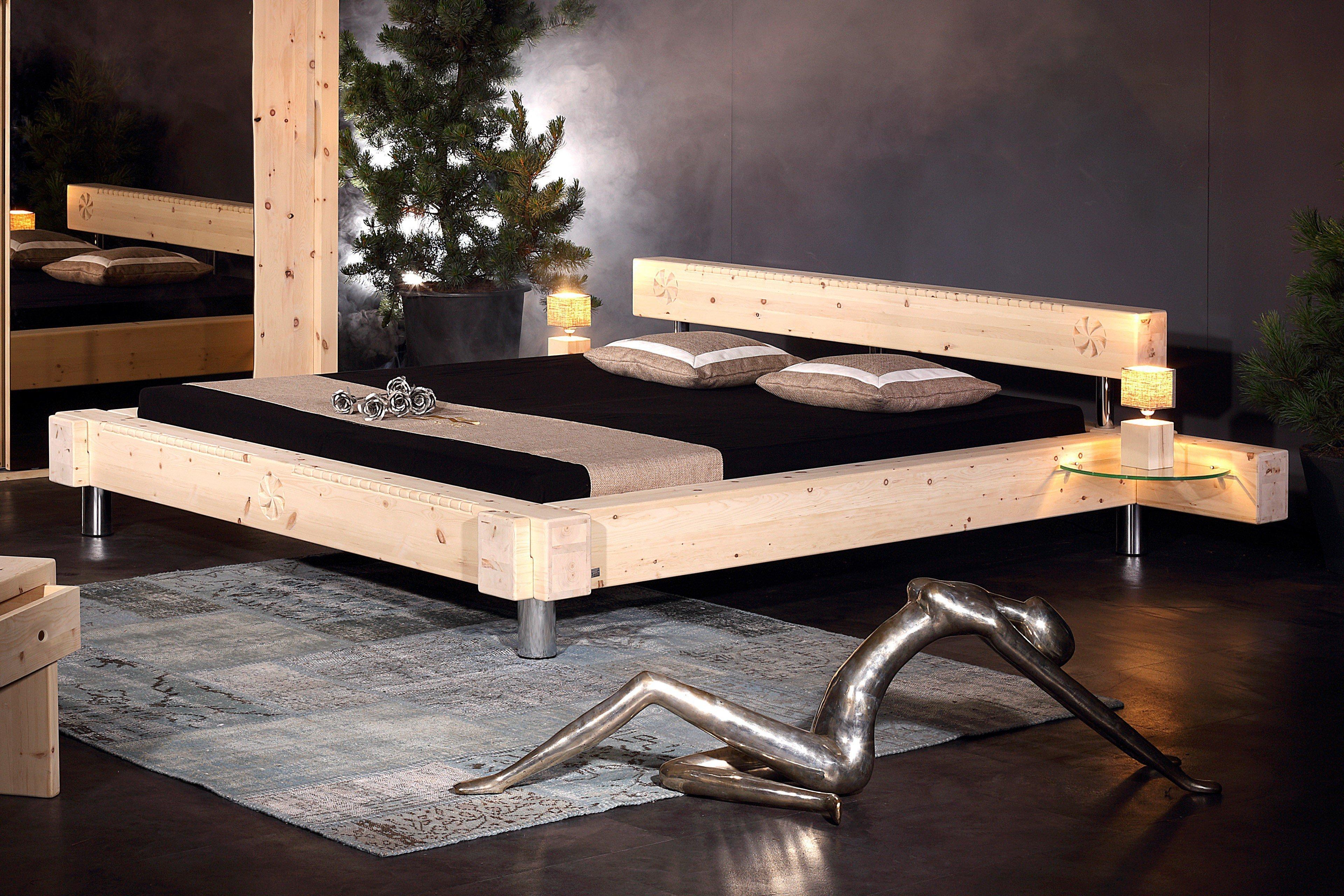 Sprenger Schlafzimmer Balken Bett Schrank Zirbe Möbel Letz Ihr