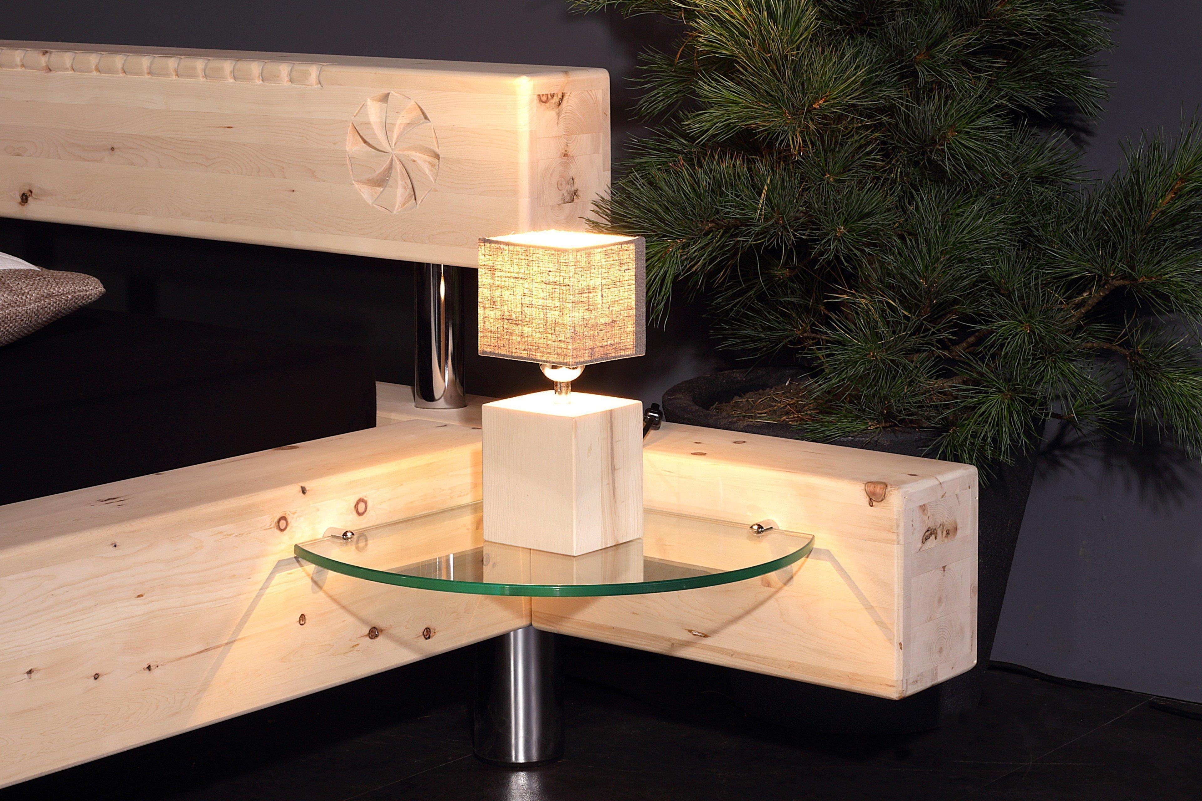 sprenger schlafzimmer balken bett schrank zirbe m bel letz ihr online shop. Black Bedroom Furniture Sets. Home Design Ideas