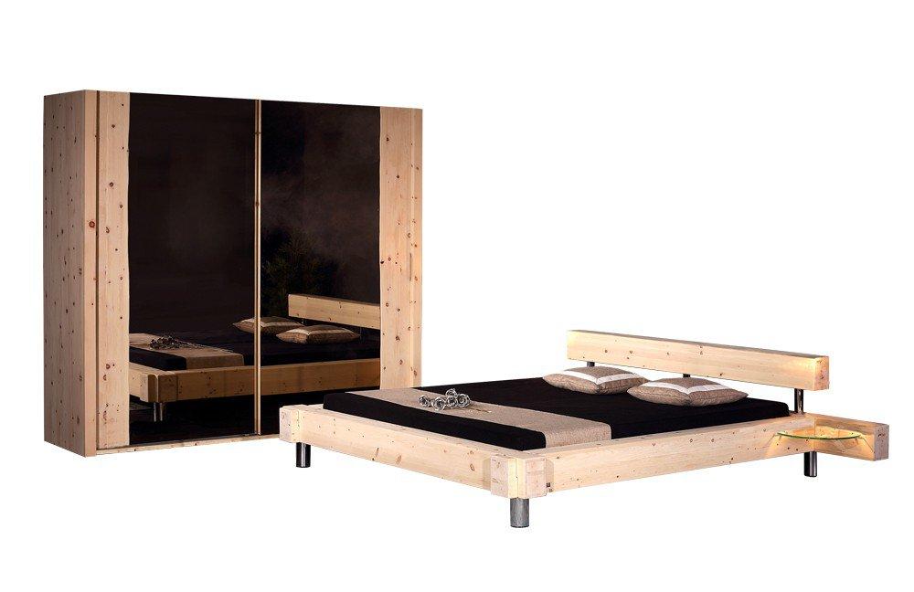 Sprenger Schlafzimmer Balken-Bett Zirbe | Möbel Letz - Ihr Online-Shop