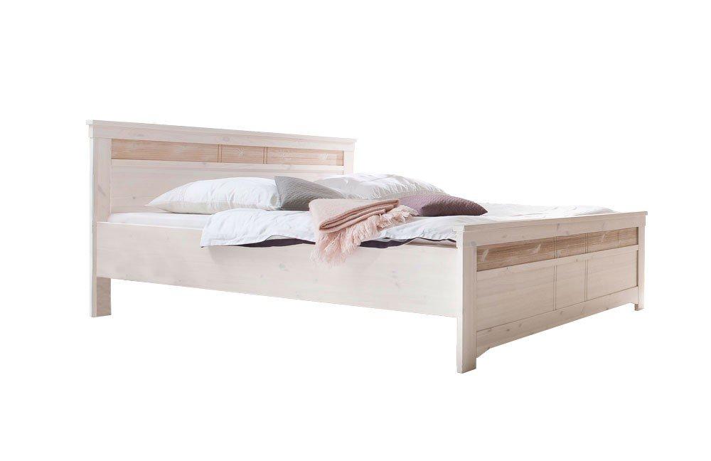 Göteborg Von Euro Diffusion   Landhaus Bett Kiefer Weiß