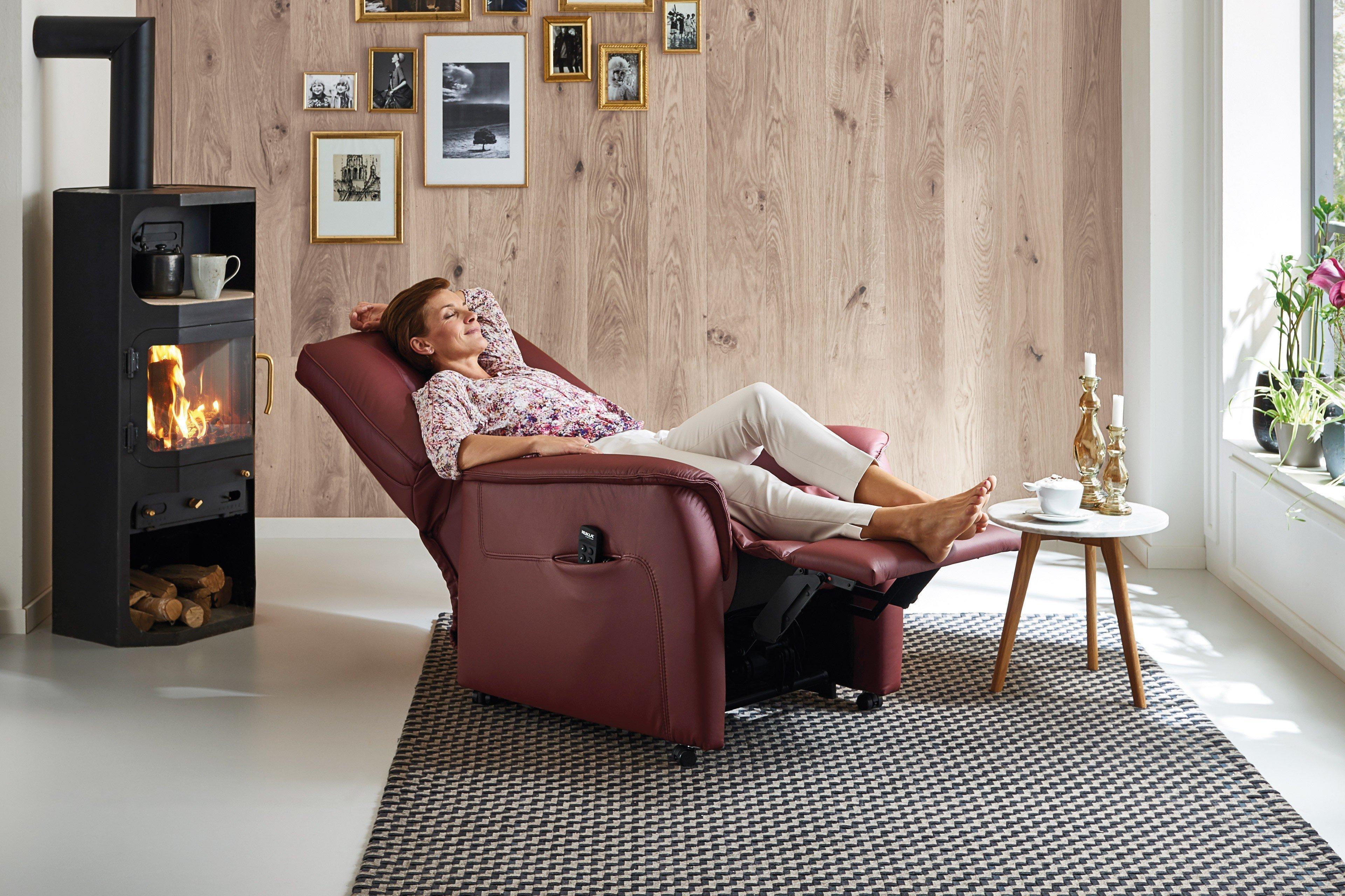 Hukla rv72 relaxsessel in weinrot m bel letz ihr for Hukla sessel
