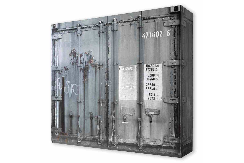 pol power container schrank grau 4 t rig m bel letz ihr online shop. Black Bedroom Furniture Sets. Home Design Ideas