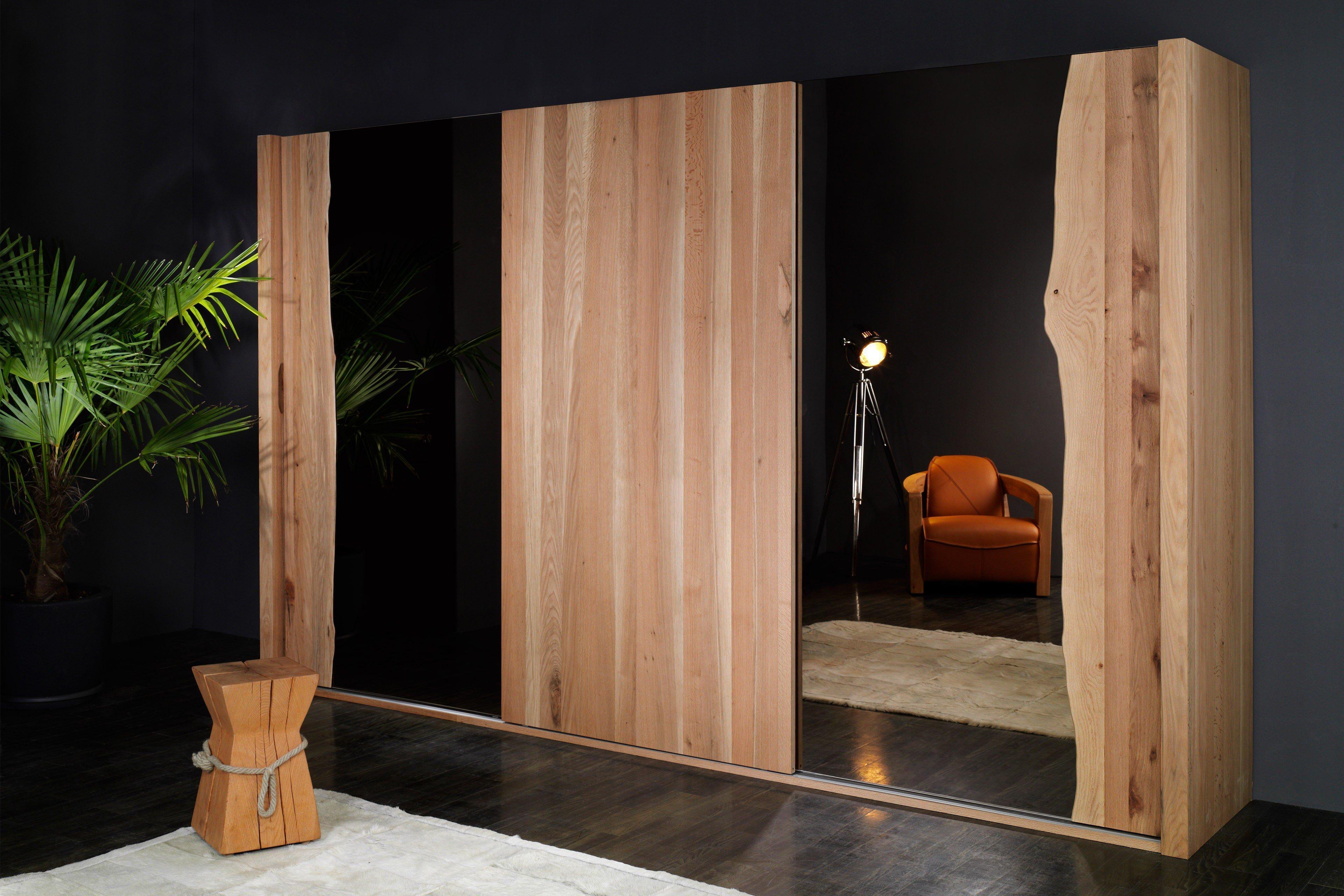 sprenger kleiderschrank sumpfeiche glas wei m bel letz ihr online shop. Black Bedroom Furniture Sets. Home Design Ideas