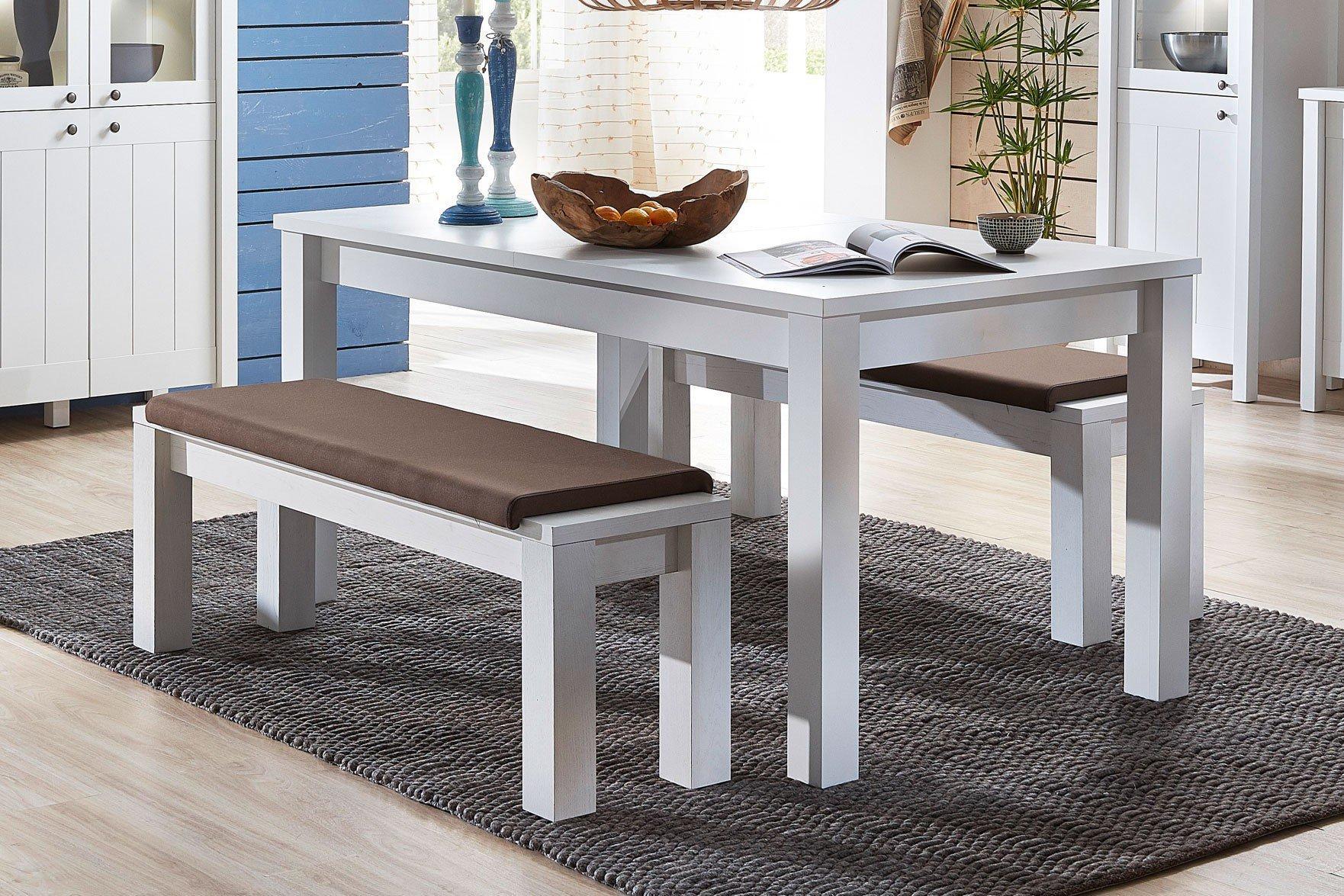 innostyle esstisch siena wei mit auszug m bel letz ihr online shop. Black Bedroom Furniture Sets. Home Design Ideas
