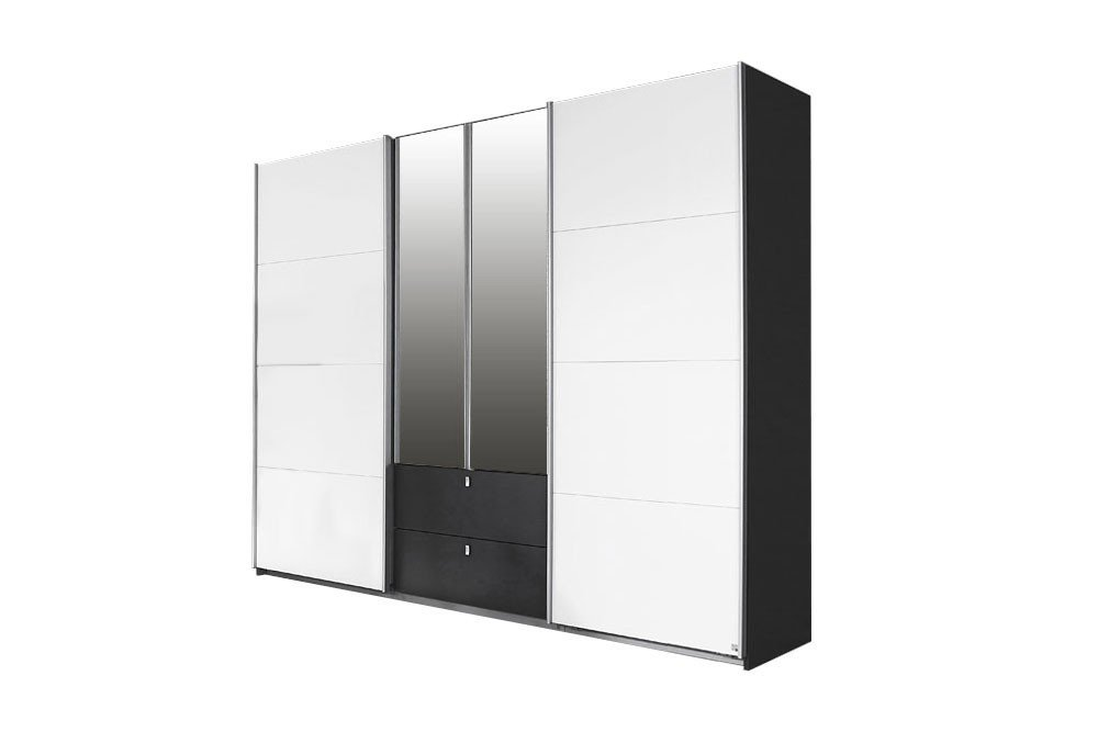 rauch schrank kombino alpinwei grau m bel letz ihr online shop. Black Bedroom Furniture Sets. Home Design Ideas