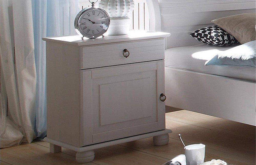 Oslo Von POL Power   Bett Landhausstil Weiß 180 X 200 Cm