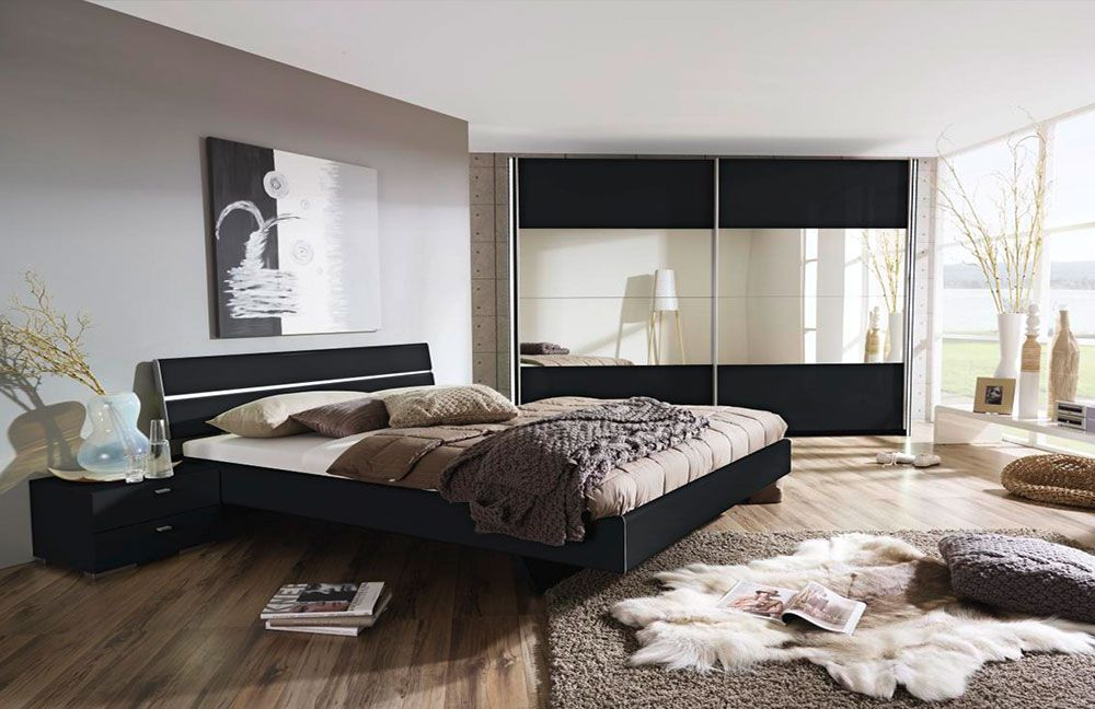 rauch avela schlafzimmer hg schwarz m bel letz ihr. Black Bedroom Furniture Sets. Home Design Ideas