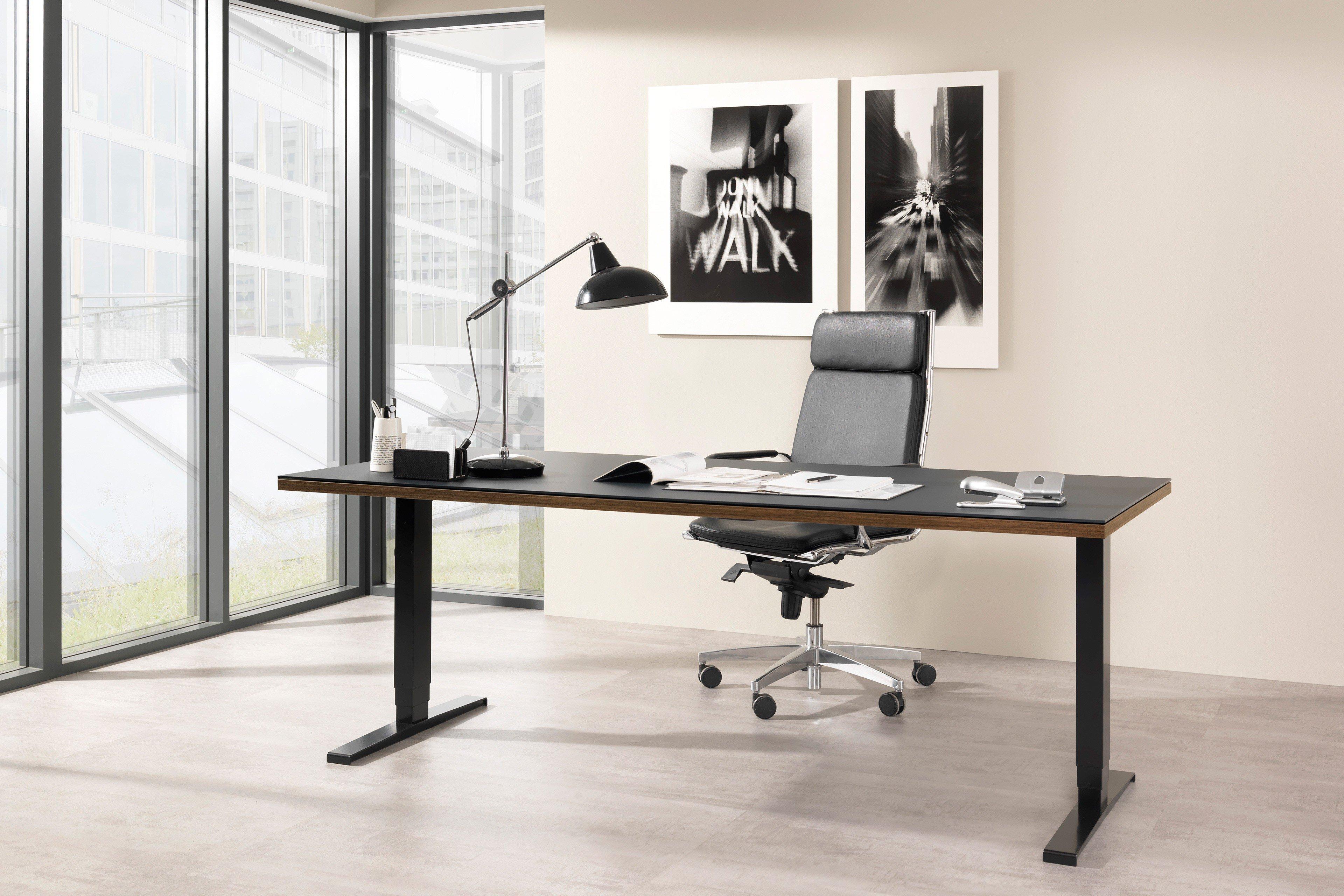 Welle Focus Schreibtisch Elektrisch Höhenverstellbar Möbel Letz
