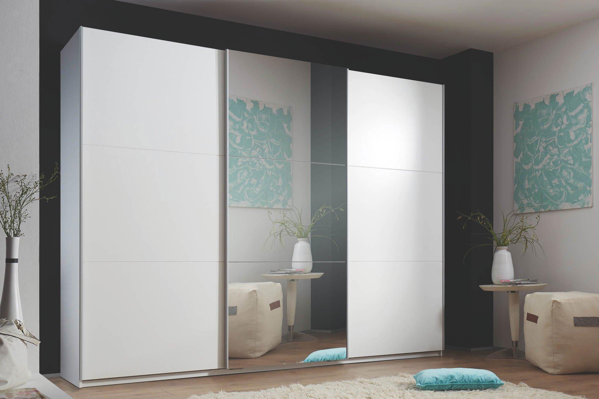 weier schrank mit spiegel weisser schrank kiefer olcian. Black Bedroom Furniture Sets. Home Design Ideas
